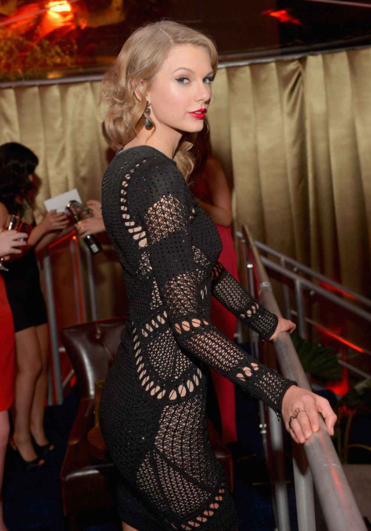 Taylor Swift - InStyle & Warner Bros - Golden Globes After Party - January 2012-1