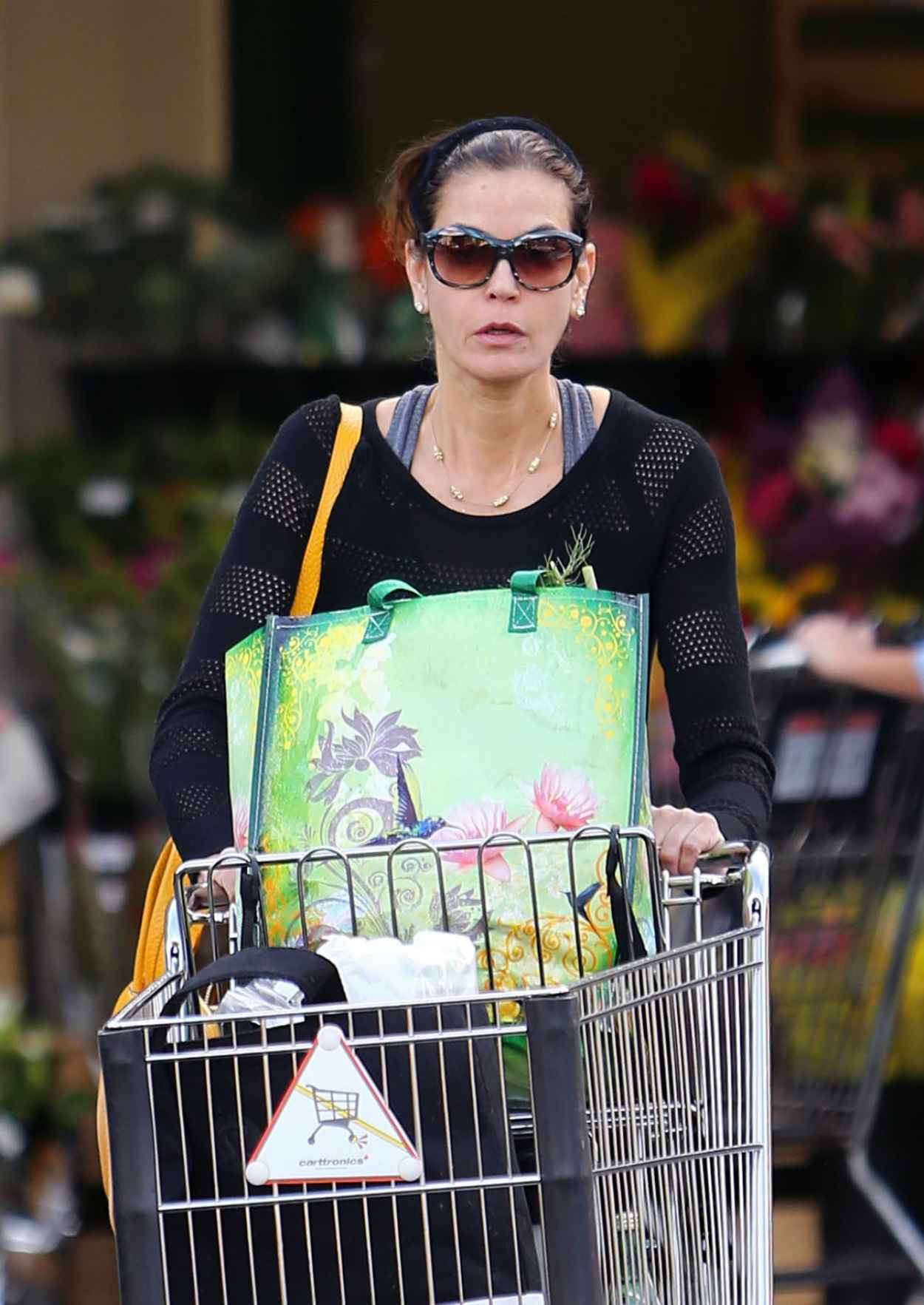 Teri Hatcher - in Tights at Whole Foods in Studio City, January 2015-1