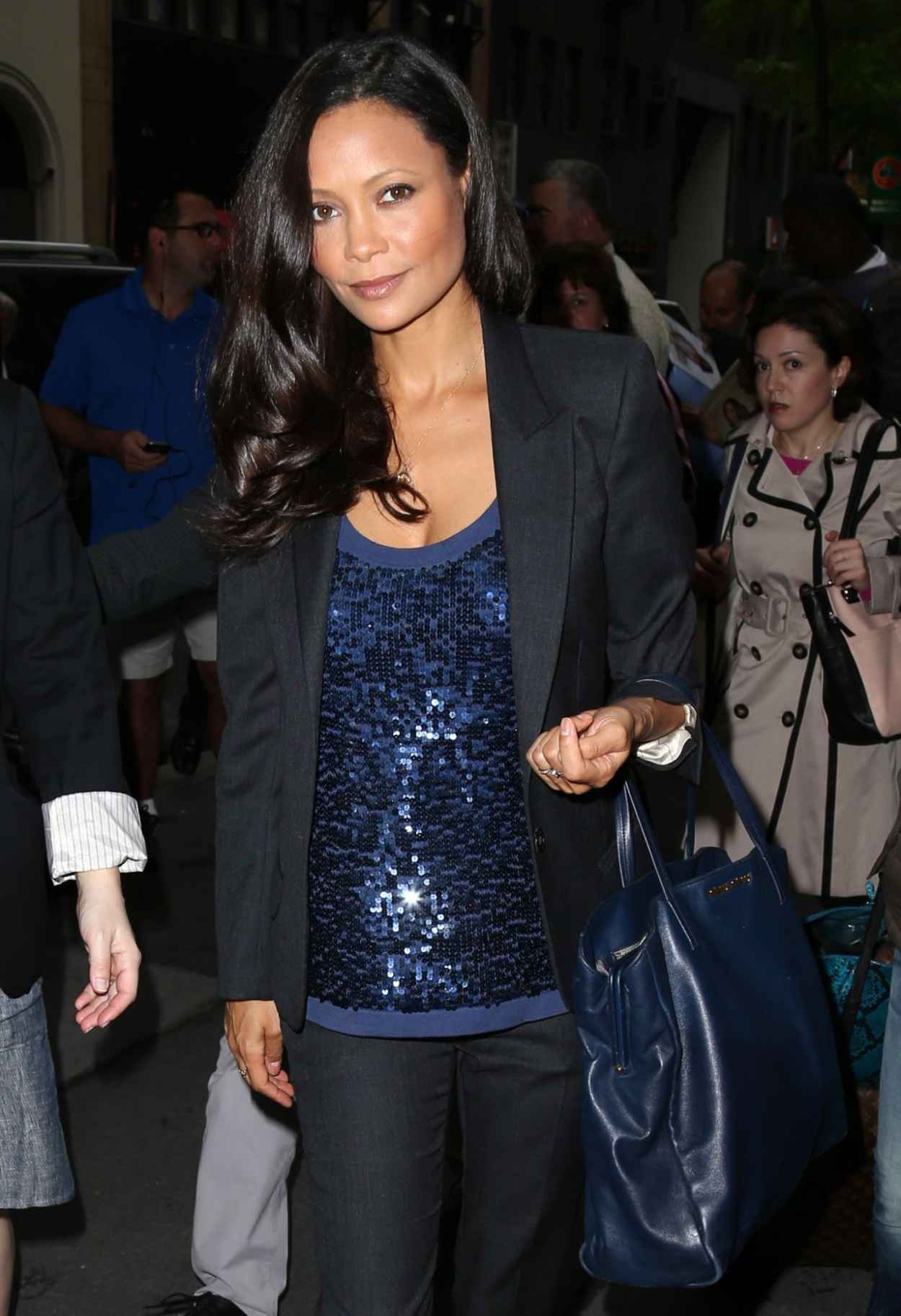 Thandie Newton Leaving the NBC Studios in NYC - May 2015-1