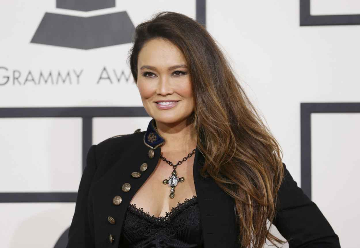 Tia Carrere - 56th Annual Grammy Awards - January 2015-1