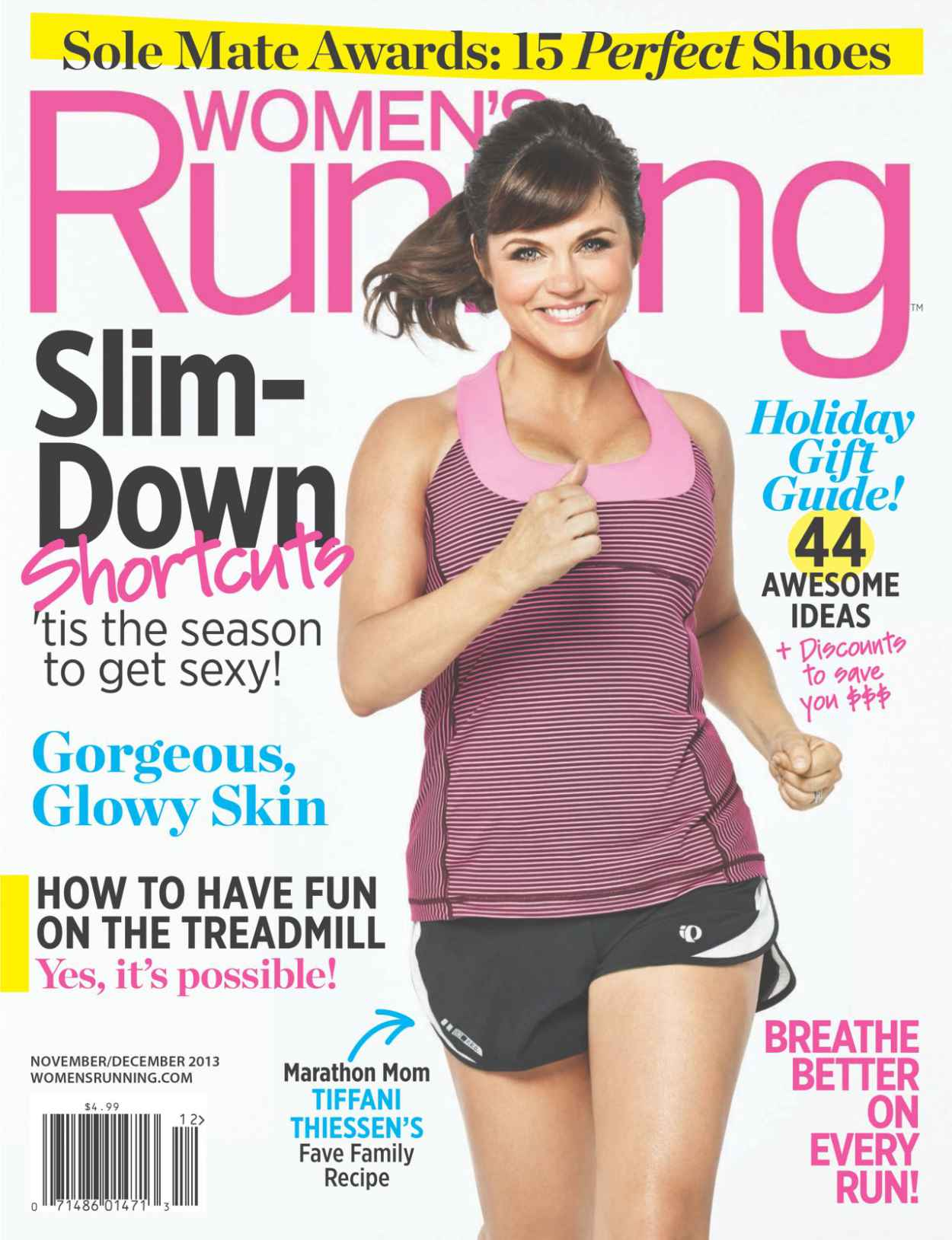 Tiffani Thiessen - WOMENS RUNNING Magazine - November - December 2015 Issue-1