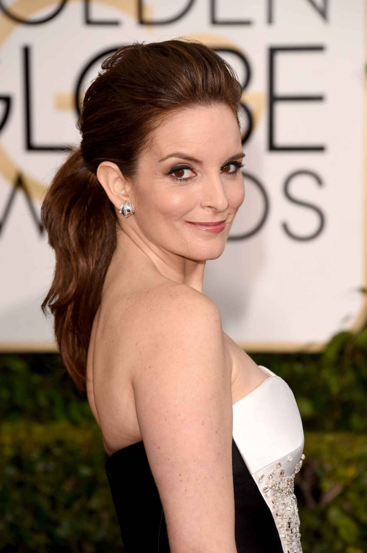 Tina Fey - 2015 Golden Globe Awards in Beverly Hills-1