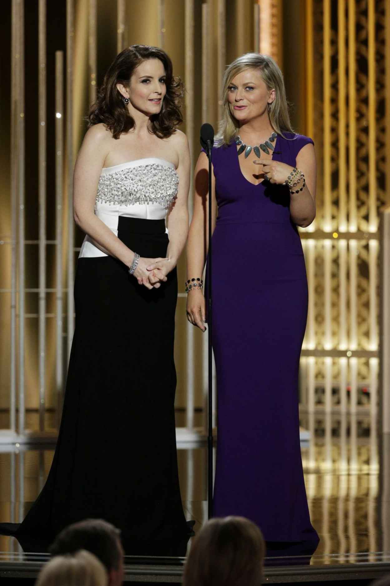 Tina Fey - 2015 Golden Globe Awards in Beverly Hills-4
