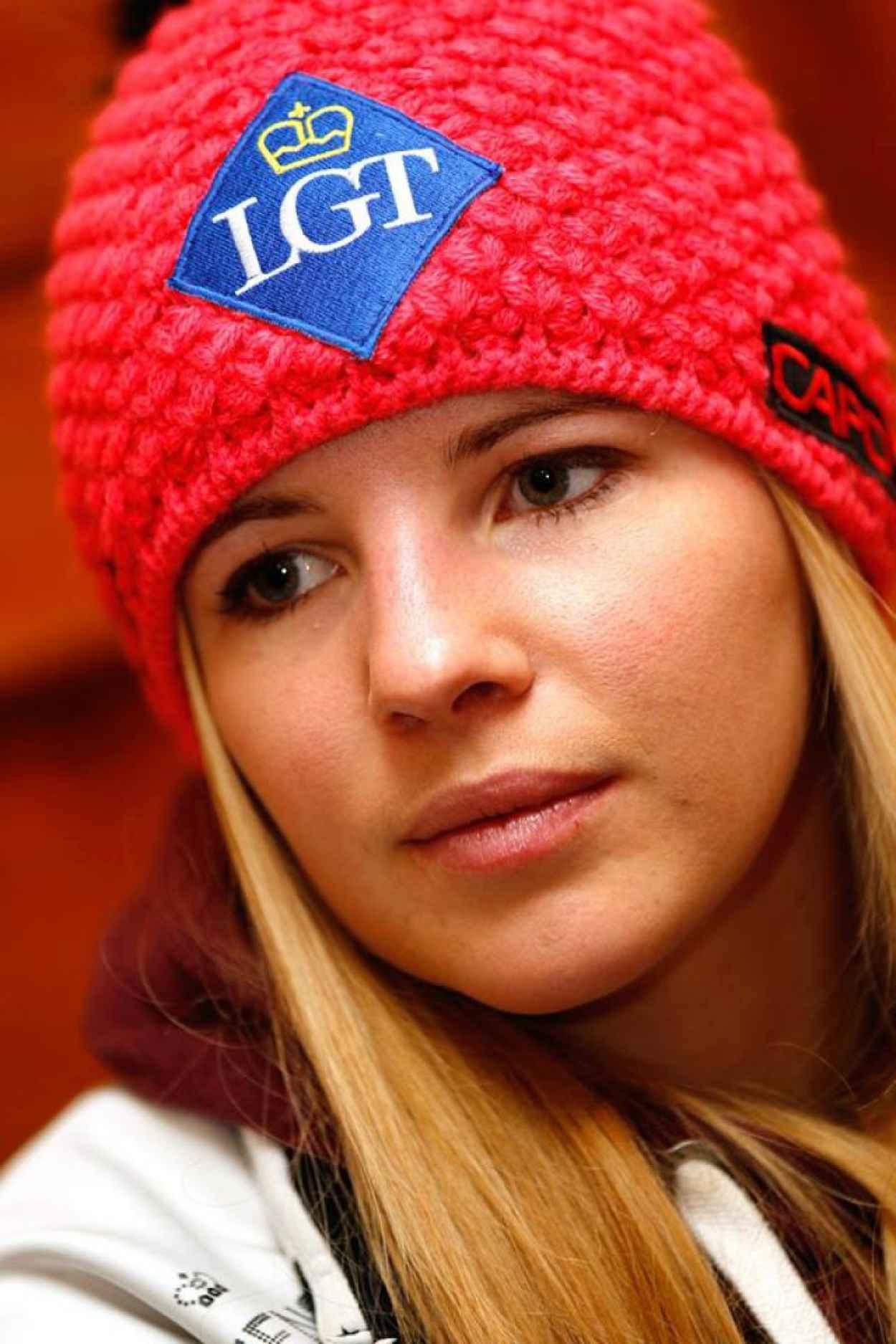 Tina Weirather- Photos From St. Moritz-1
