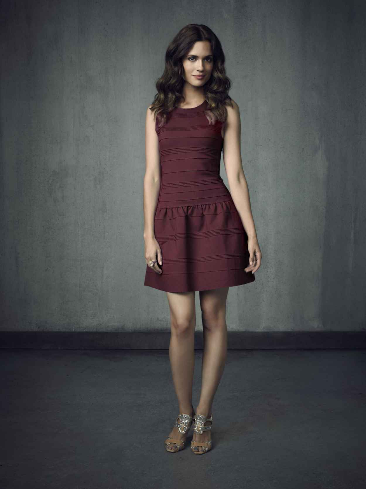 Torrey DeVitto - -The Vampire Diaries- TV Series - Season 4 Promo Photos-3