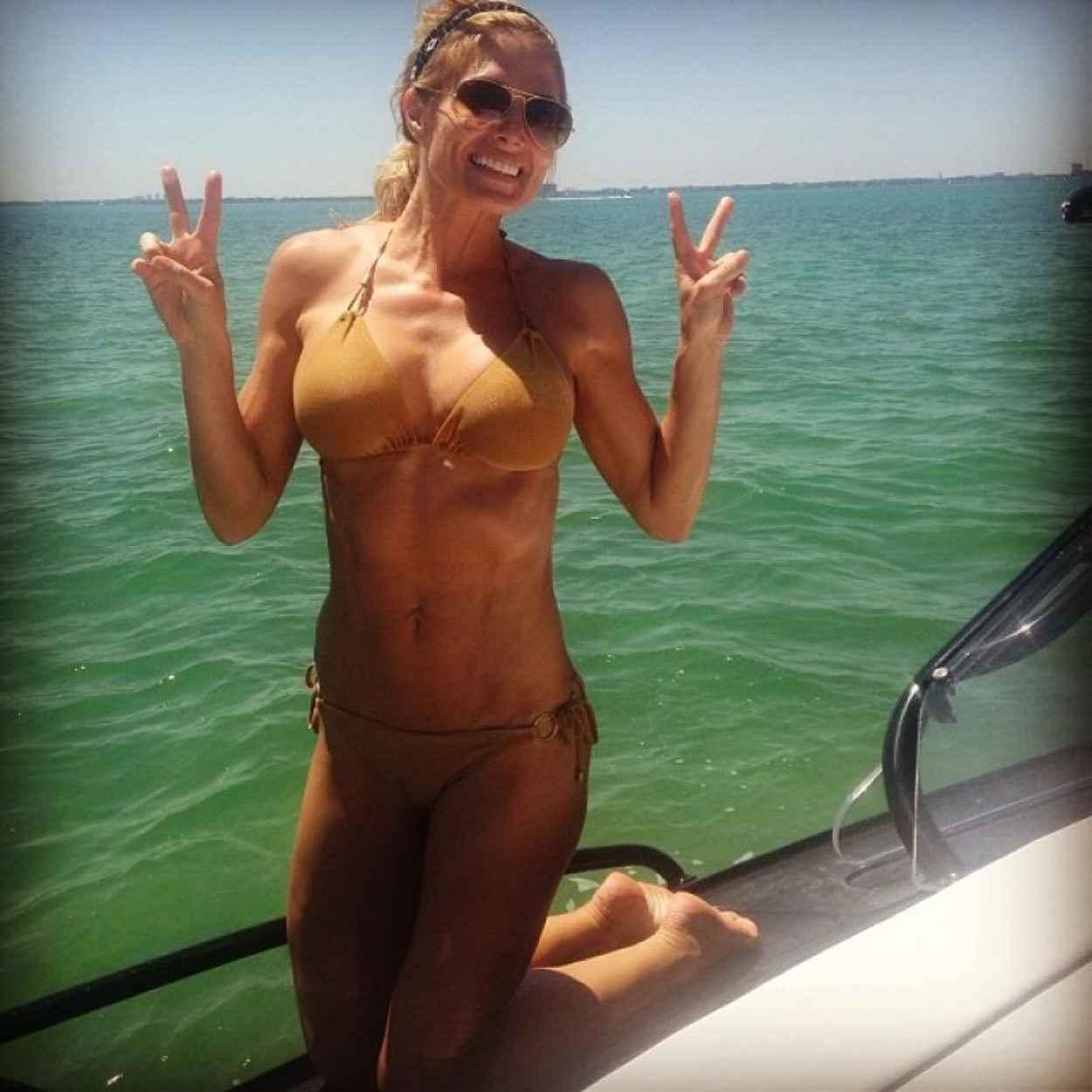 Torrie Wilson in a Bikini - Instagram, April 2015-1