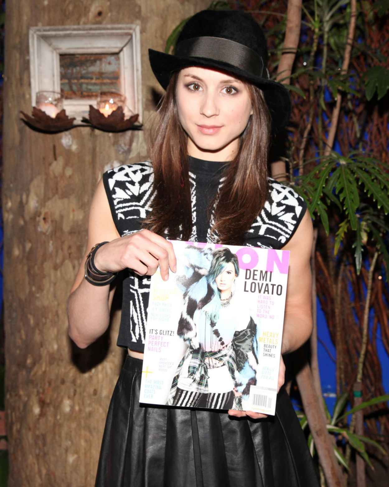 Troian Bellisario at NYLON Magazine Dinner, Los Angeles, January 2015-1