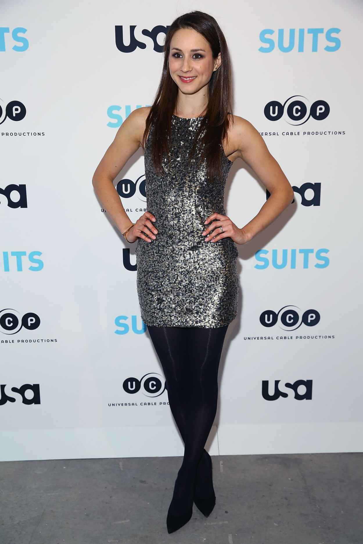 Troian Bellisario - Patrick J. Adams Exhibition Opening of SUITS Gallery in New York City-1