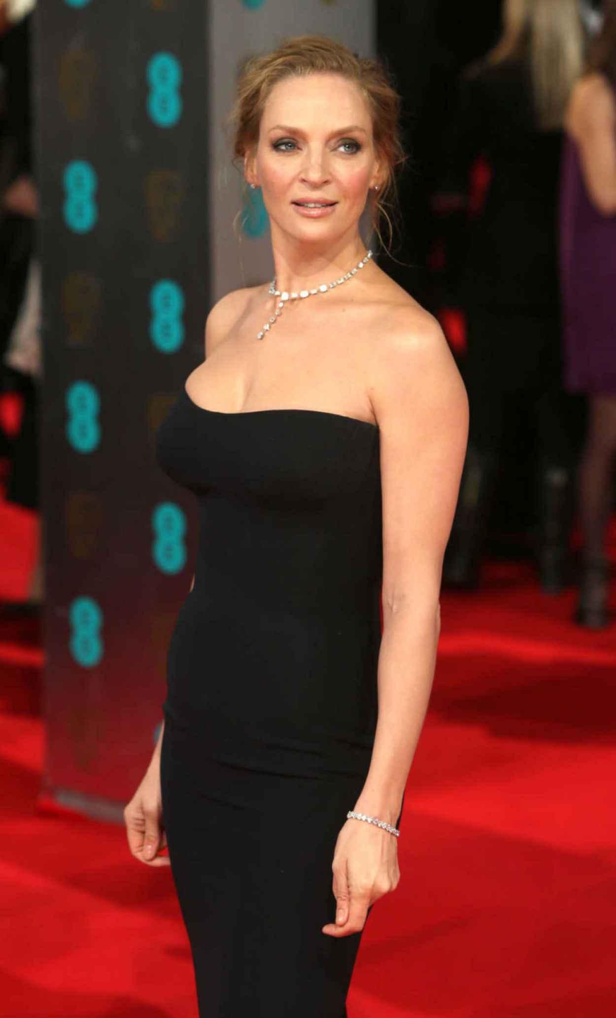 Uma Thurman - 2015 BAFTA Awards in London-1