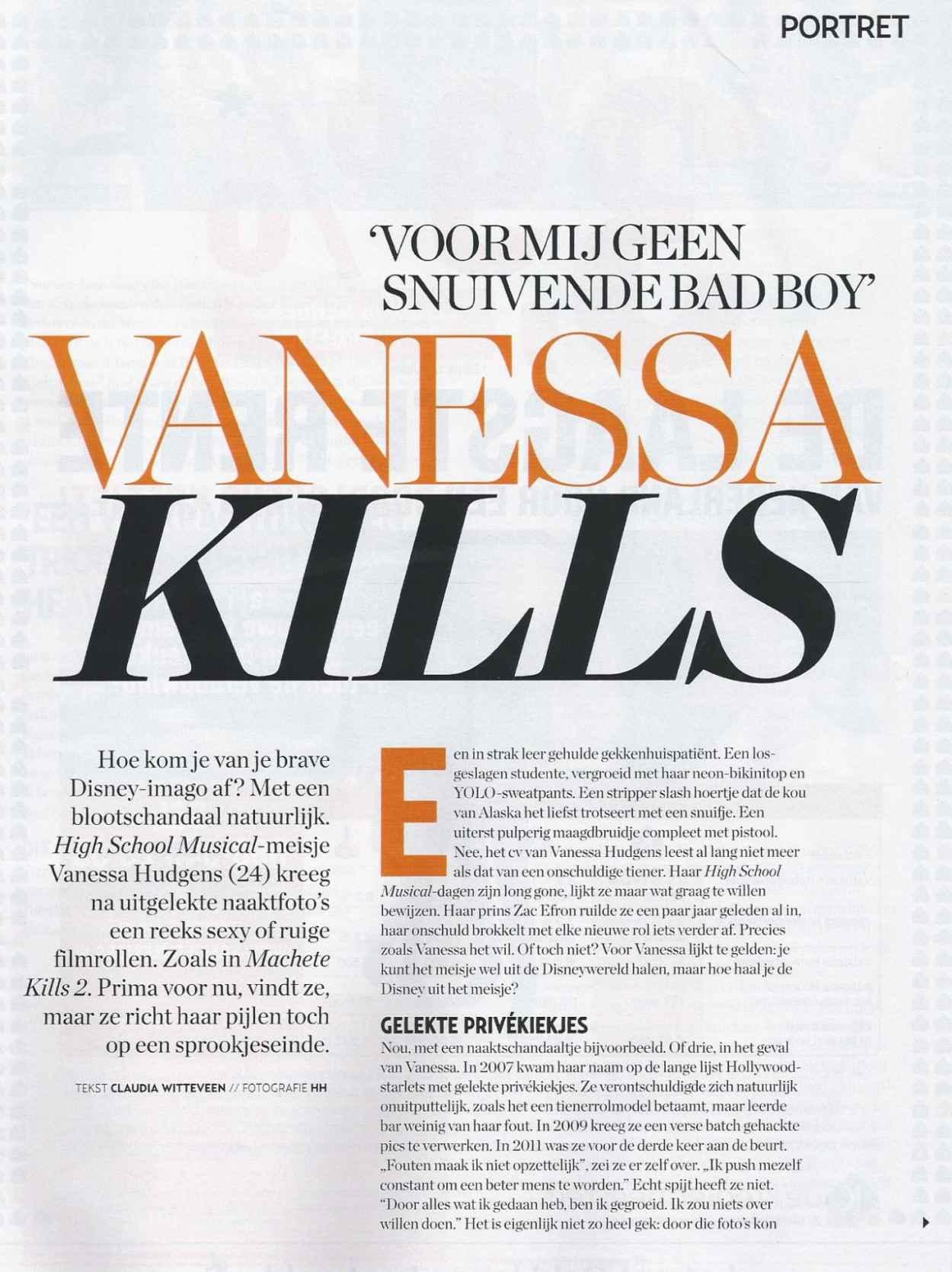 Vanessa Hudgens in VERONICA Magazine-4