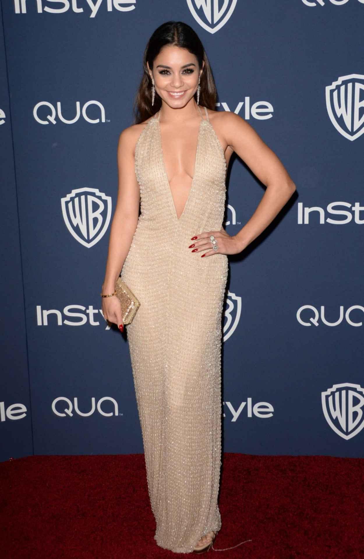 Vanessa Hudgens - InStyle & Warner Bros. 2015 Golden Globes Party in Beverly Hills-1