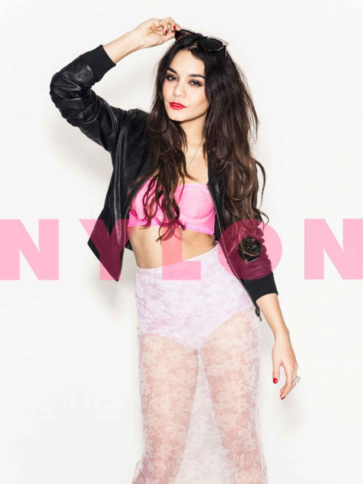 Vanessa Hudgens - NYLON Magazine - February 2015 Issue-1