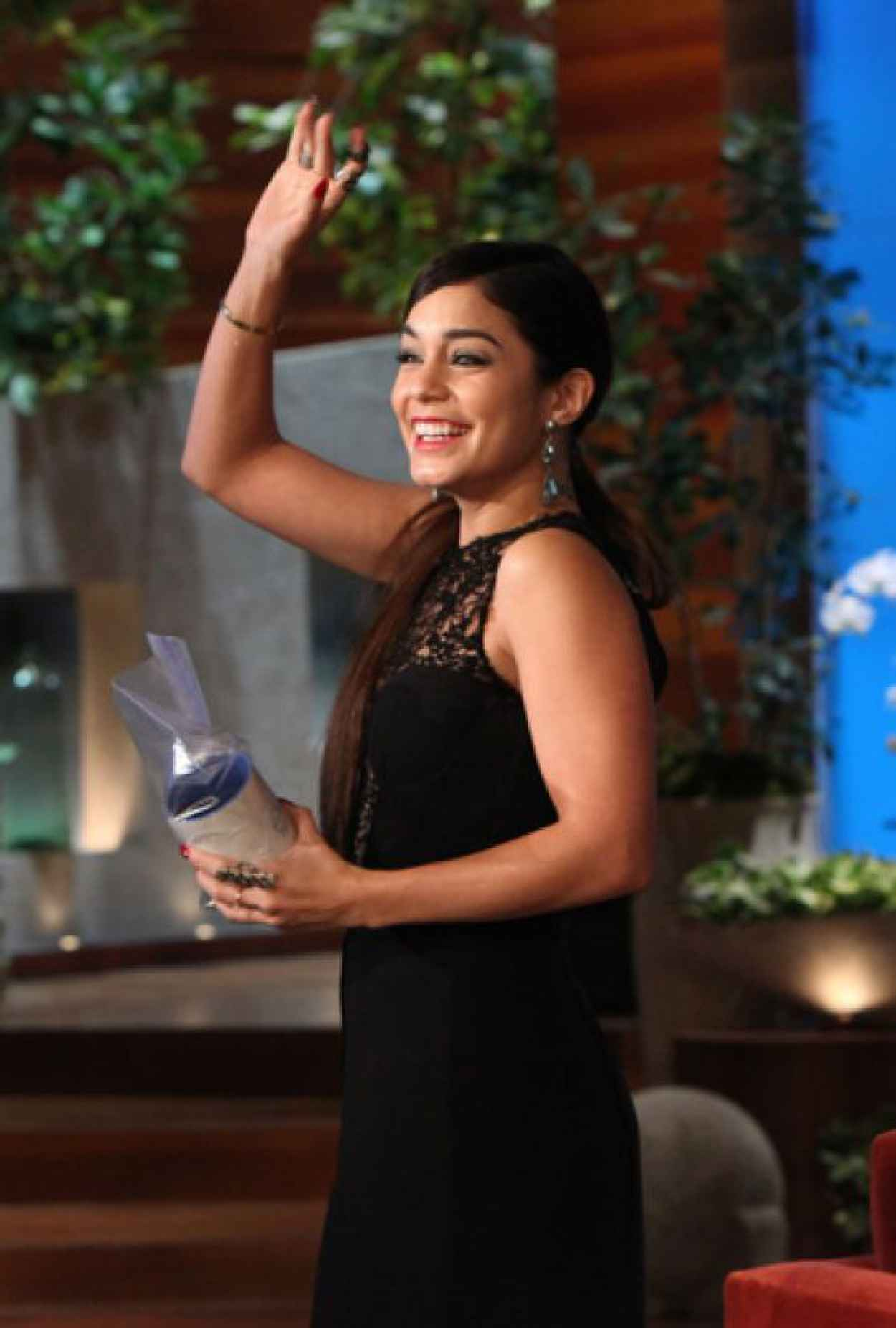 Vanessa Hudgens - On The Ellen DeGeneres Show - January 2015-1