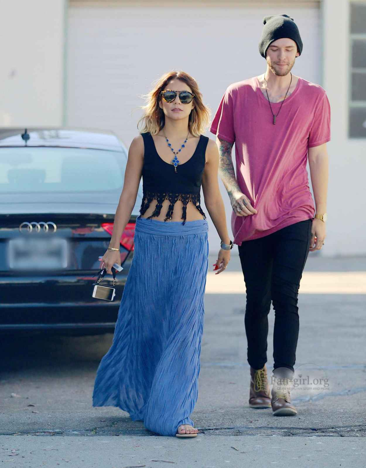 Vanessa Hudgens Street Style Out In Los Angeles July 2015