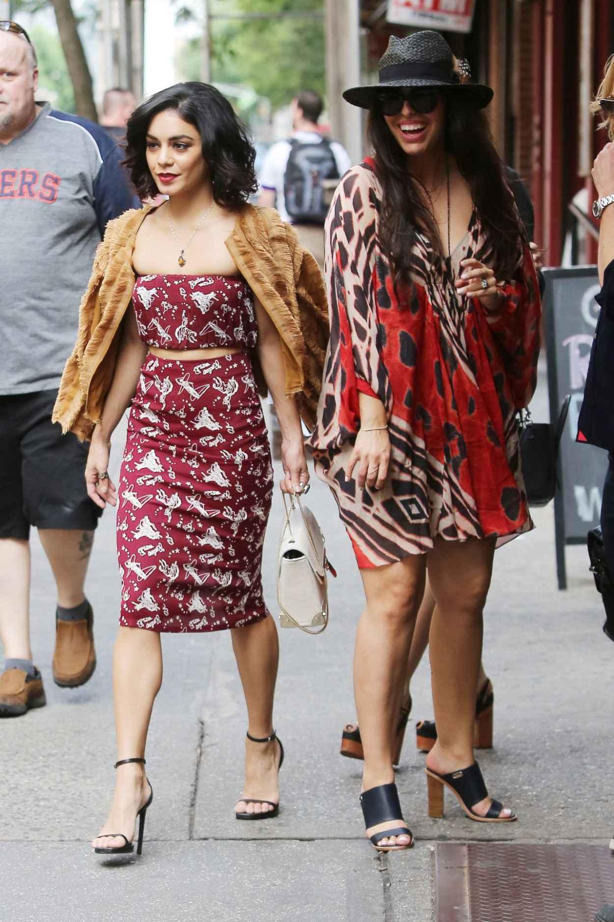 Vanessa Hudgens Style Leaving Her Apartment In New York City June 2015