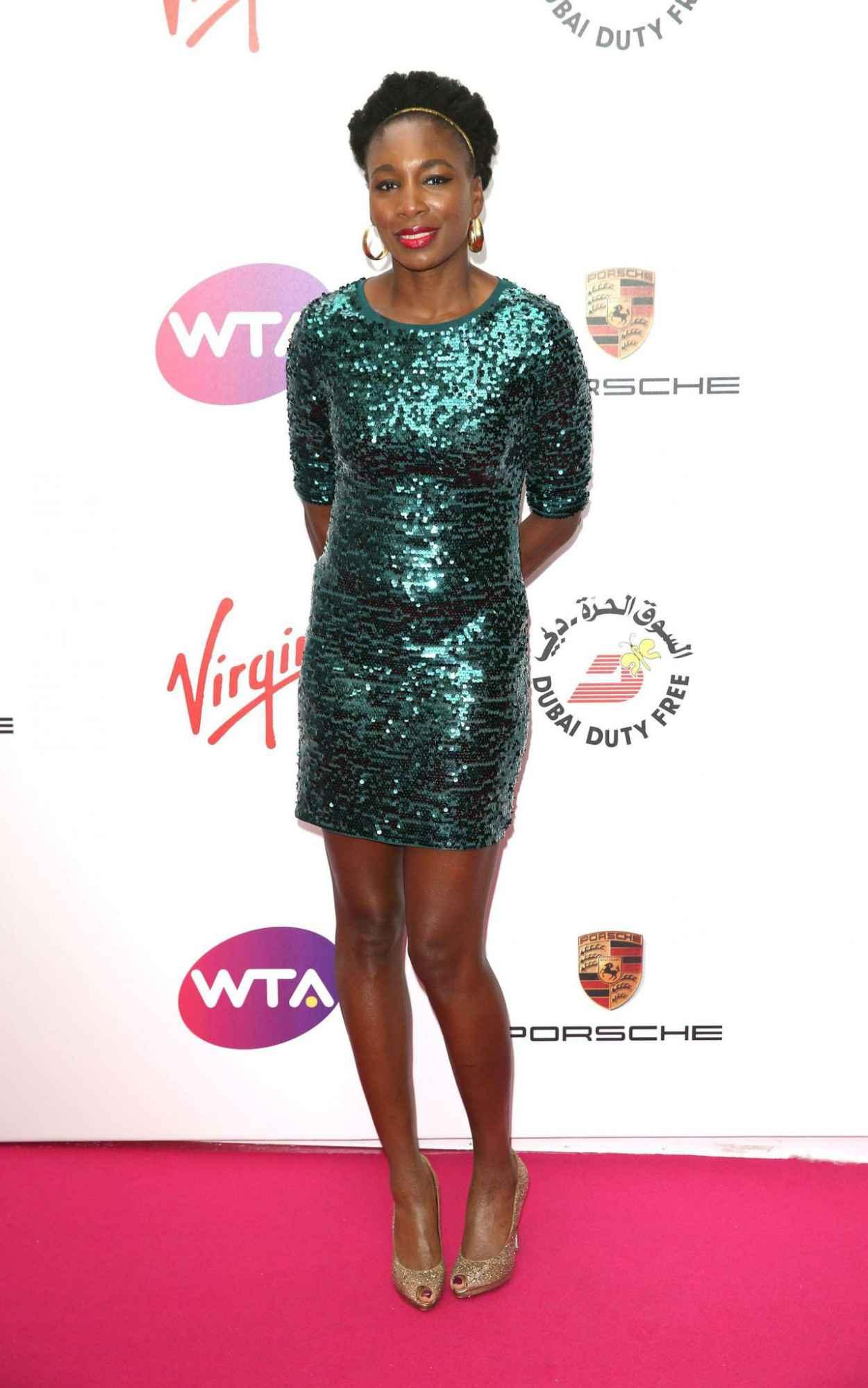 Venus Williams - WTA Pre-Wimbledon 2015 Party at Kensington Roof Gardens in London-1