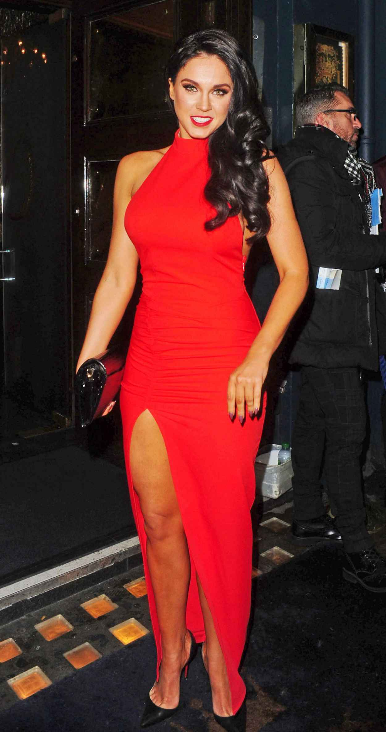 Vicky Pattison Fashion - Cafe De Paris in Central London, February 2015-1