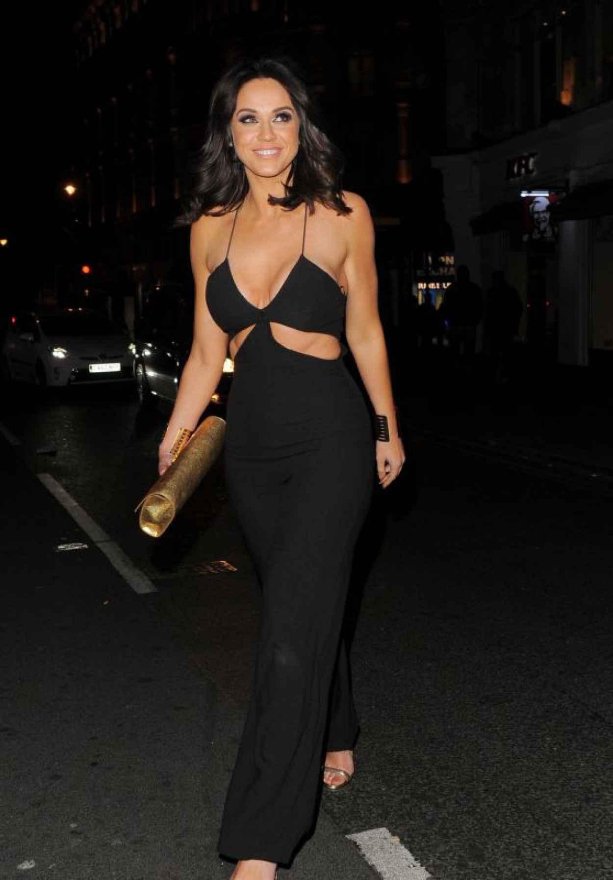 Vicky Pattison Night Out Style - London, April 2015-1