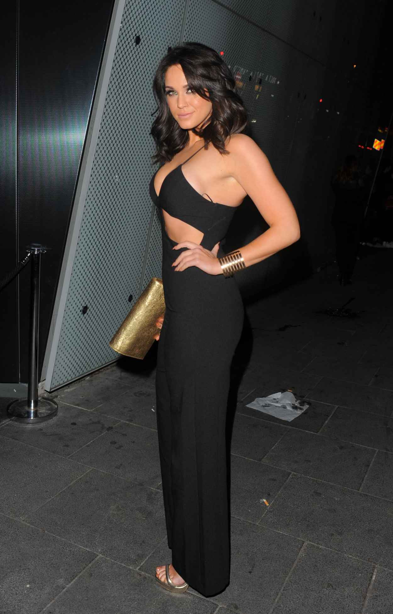 Vicky Pattison Night Out Style - London, April 2015-2