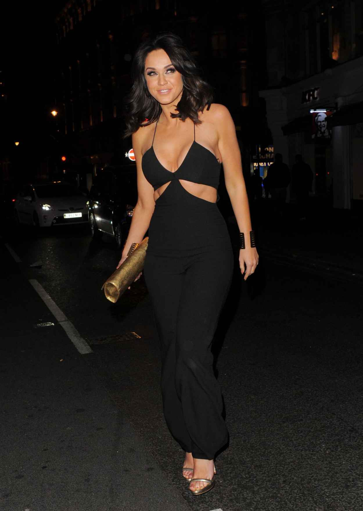 Vicky Pattison Night Out Style - London, April 2015-3