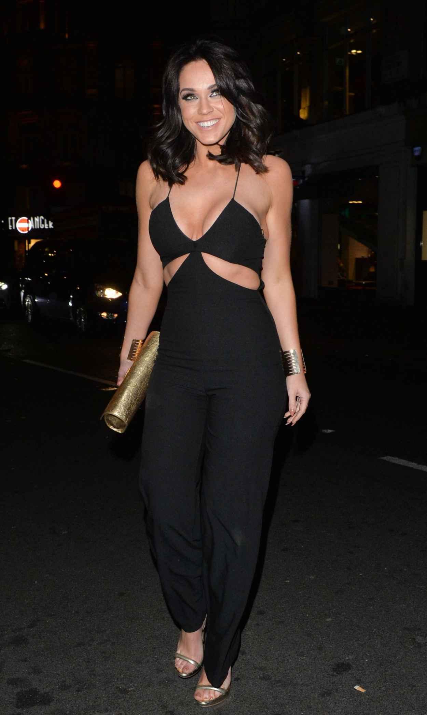 Vicky Pattison Night Out Style - London, April 2015-4