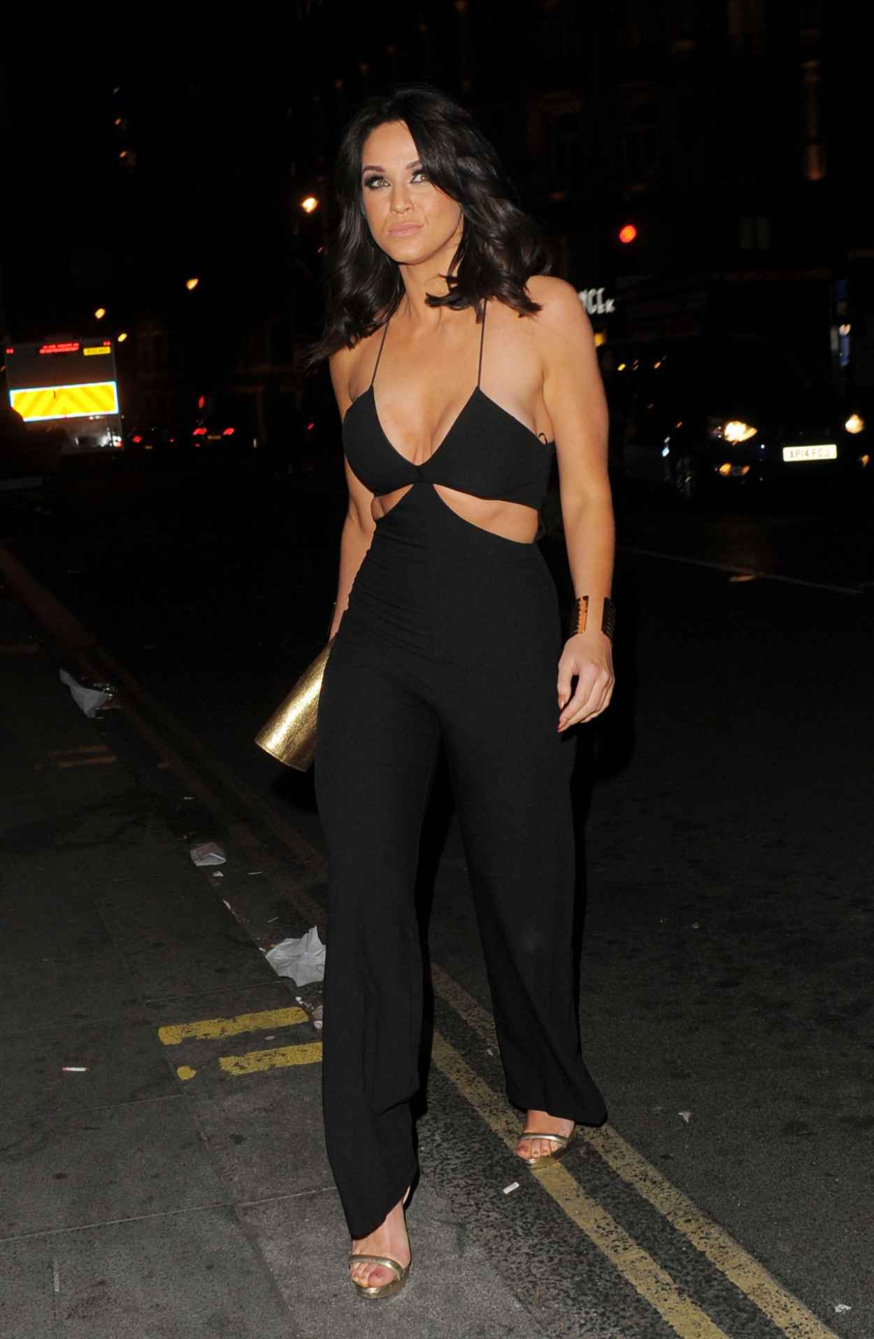 Vicky Pattison Night Out Style - London, April 2015-5