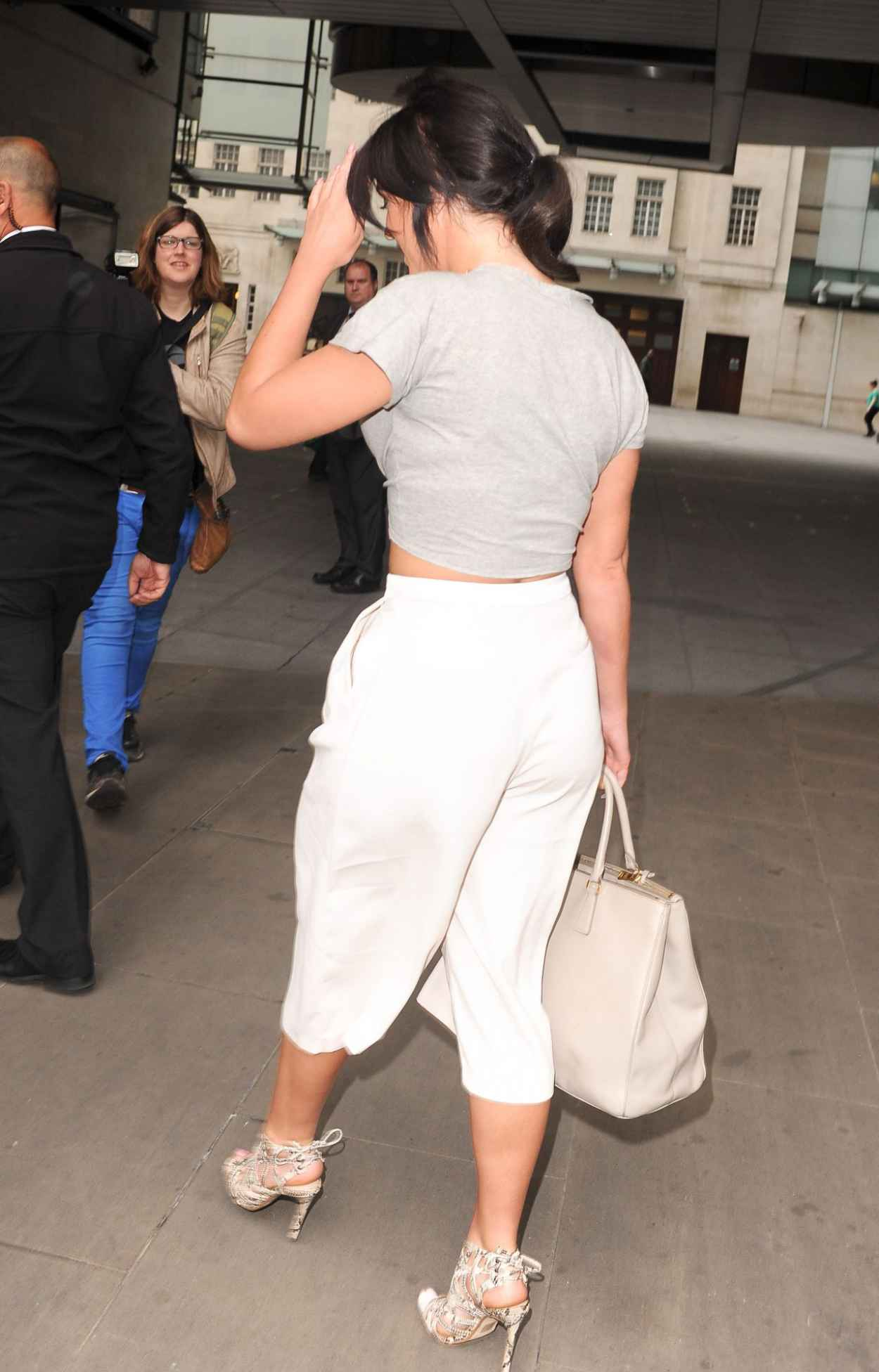 Vicky Pattison Summer Style - BBC Radio One Studios in London, July 2015-2