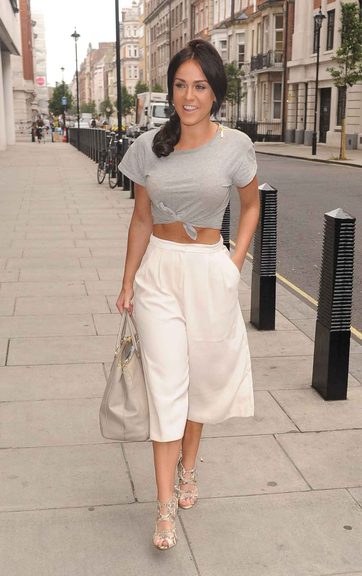 Vicky Pattison Summer Style - BBC Radio One Studios in London, July 2015-3