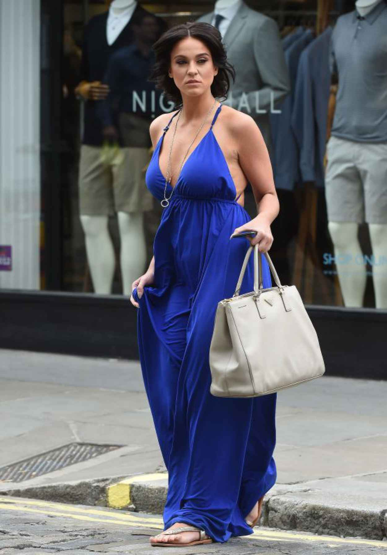 Vicky Pattison Summer Style - Shopping in London, July 2015-1