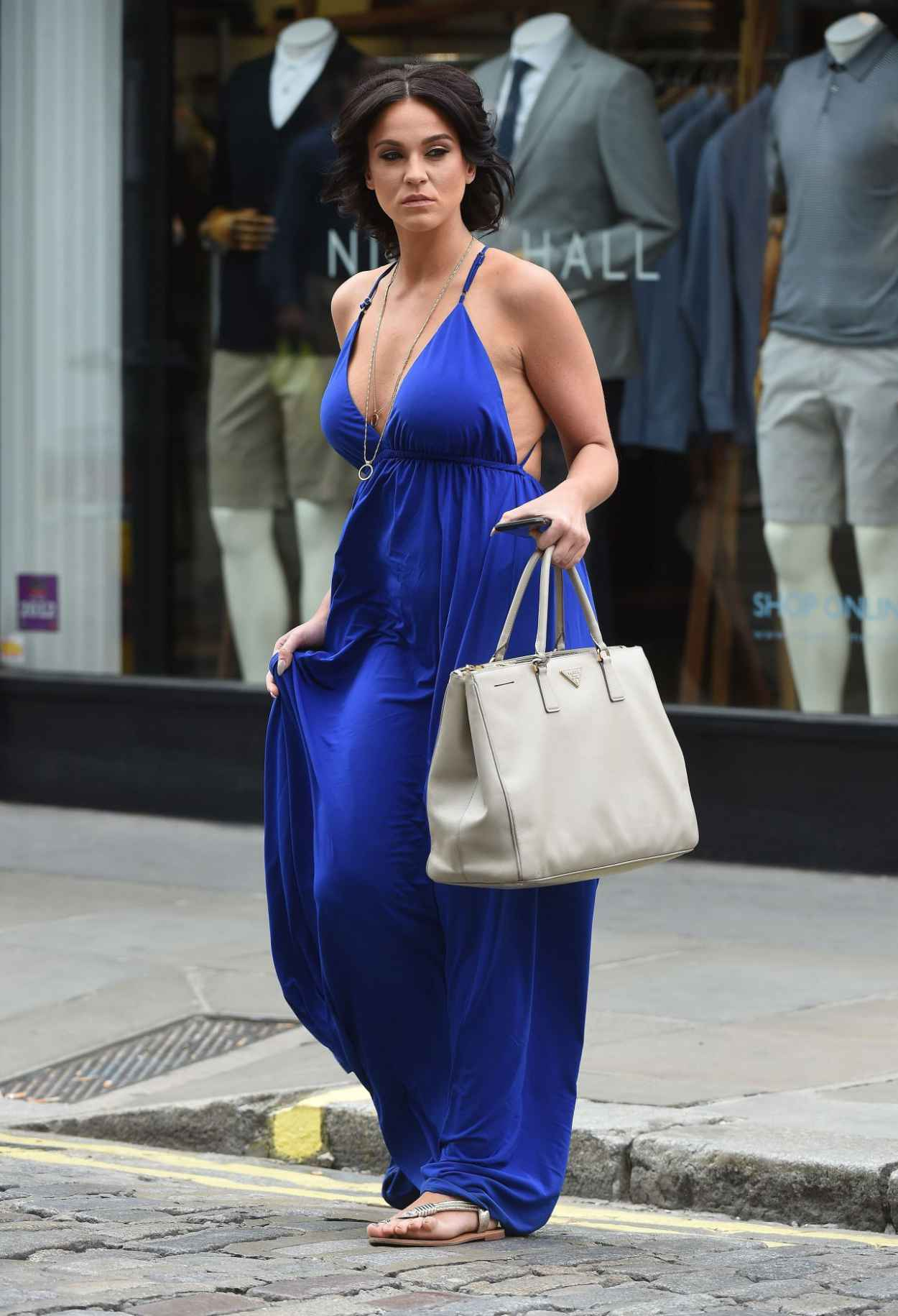 Vicky Pattison Summer Style - Shopping in London, July 2015-4