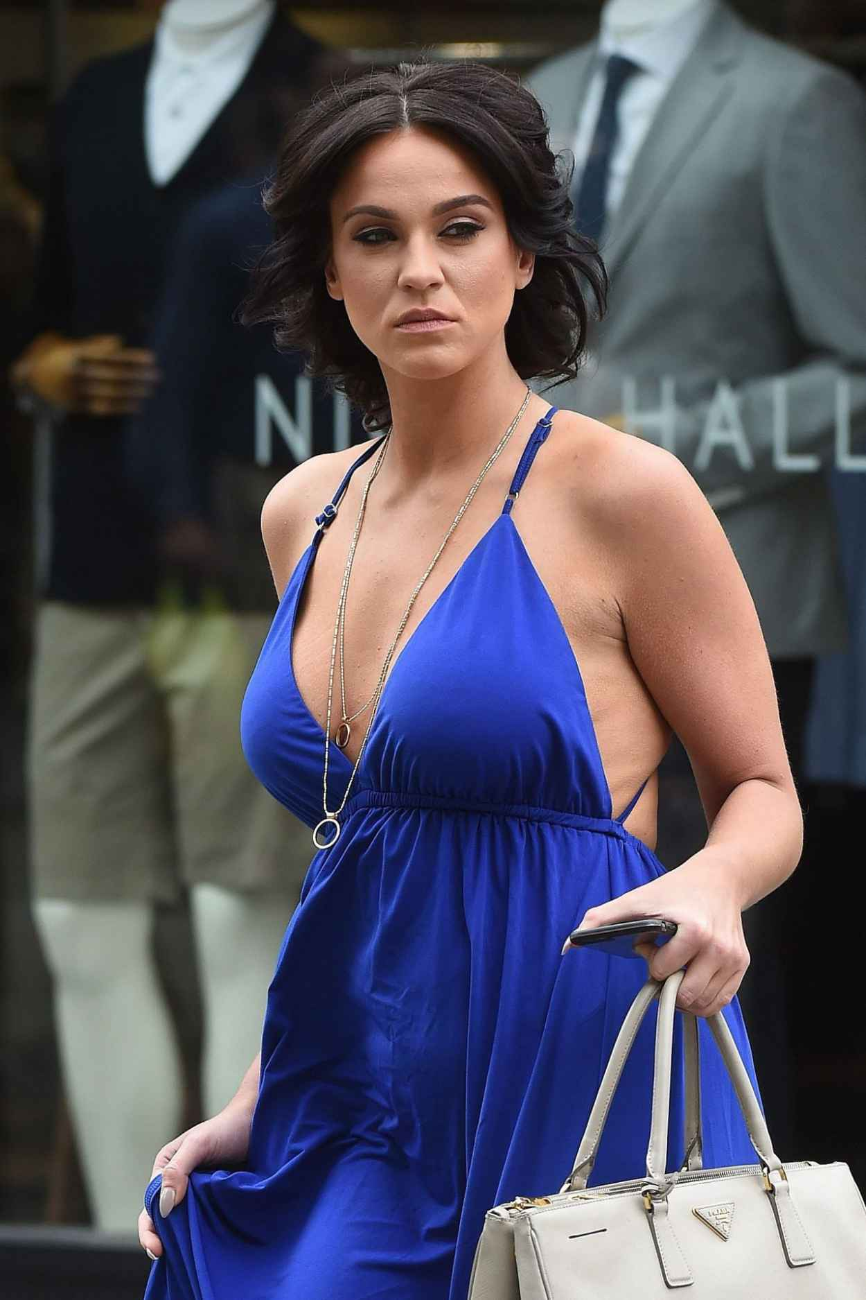 Vicky Pattison Summer Style - Shopping in London, July 2015-5