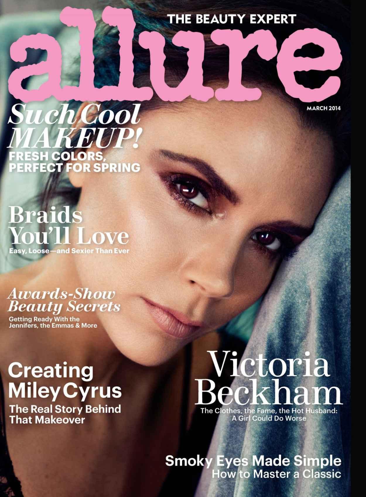 Victoria Beckham - Allure Magazine (USA) - March 2015 Cover-1