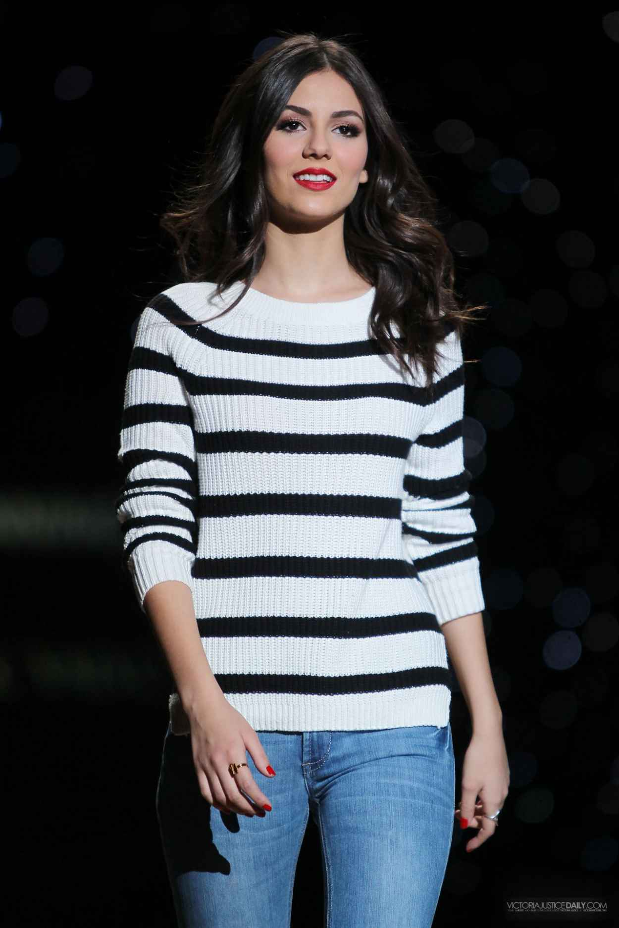Victoria Justice - Heart Truth Red Dress Show Rehearsal - February 2015-1