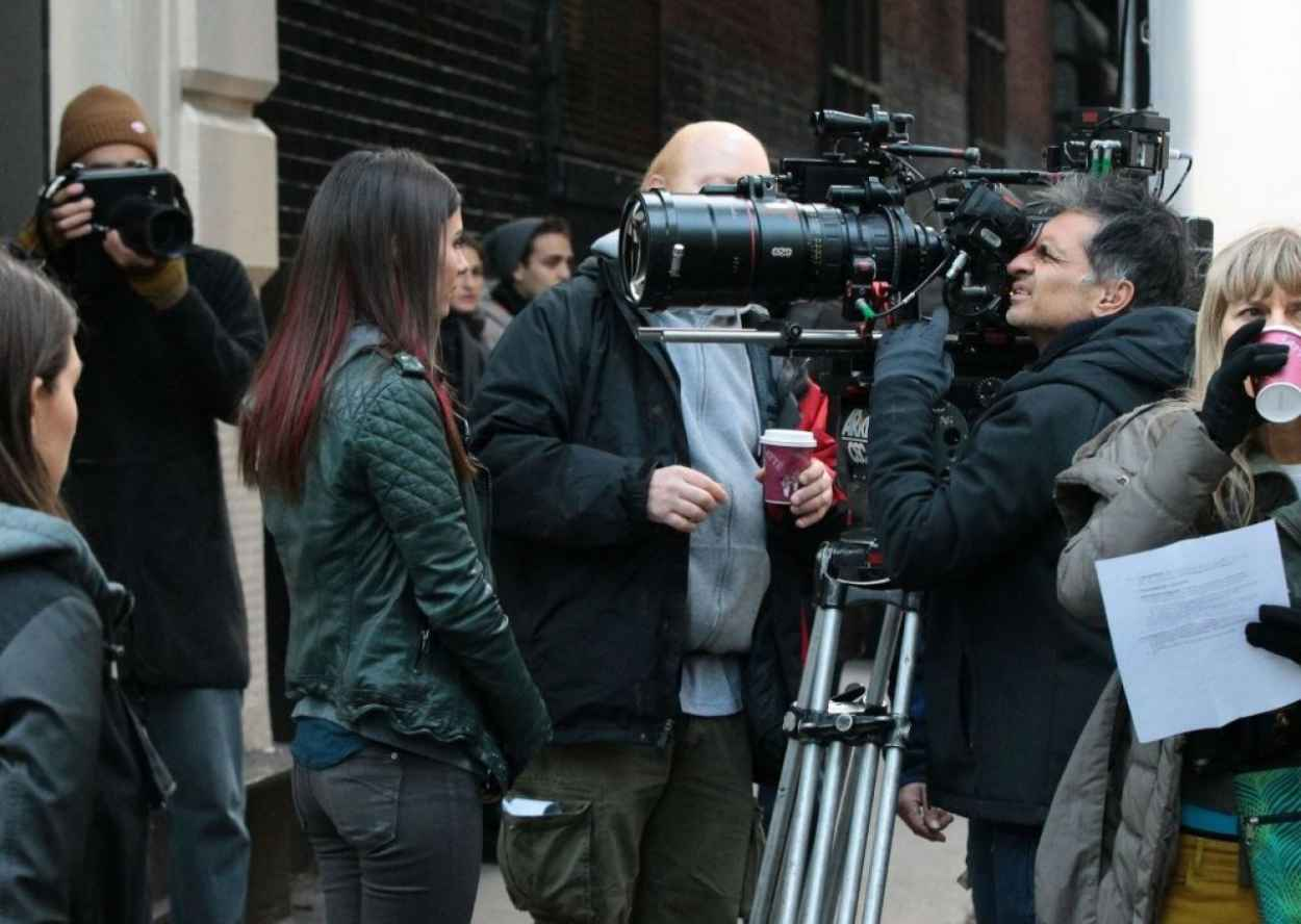 Victoria Justice - More Photos From The Set of EYE CANDY - New York City November 2015-2