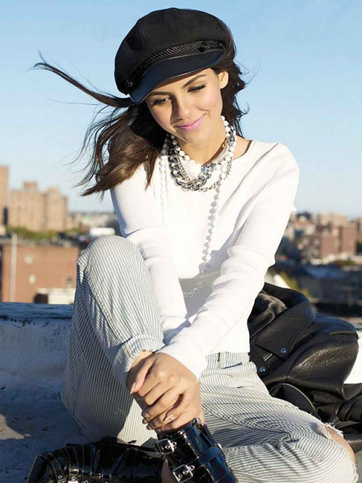 Victoria Justice Photoshoot For Seventeen Magazine