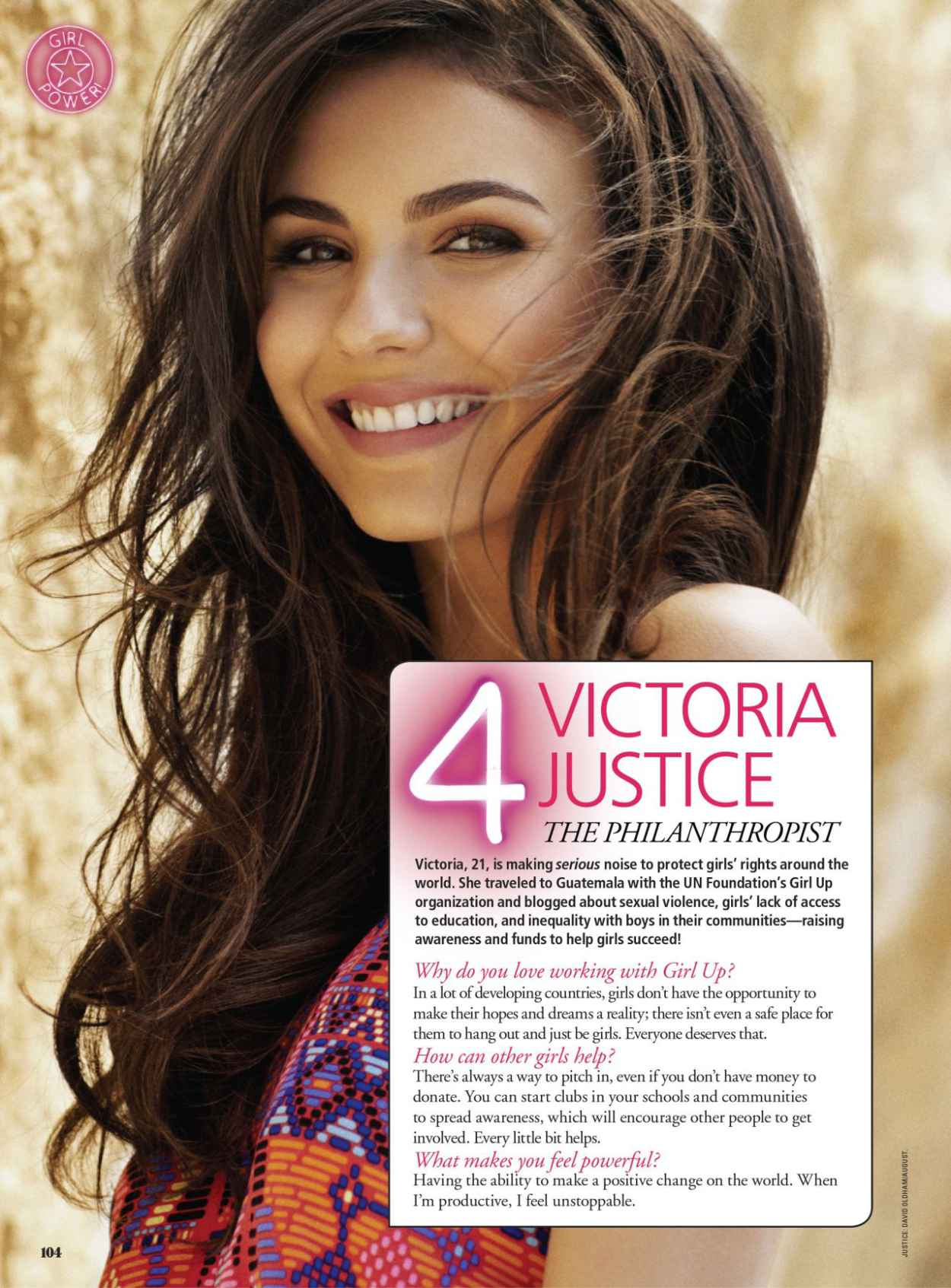 Victoria Justice - SEVENTEEN Magazine - March 2015 Issue-1