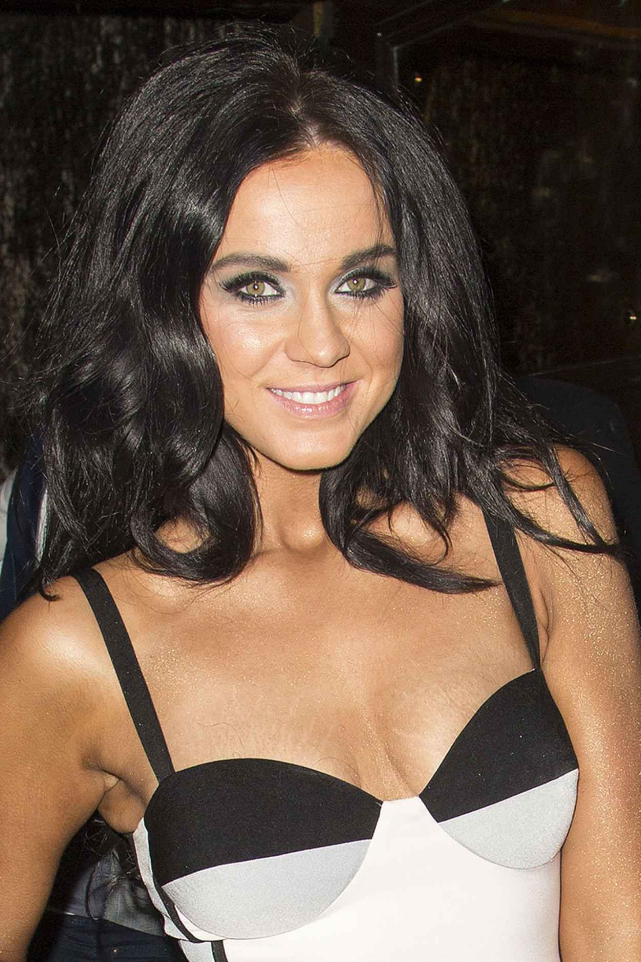 Vicky Pattison Night Out Style - Cafe de Paris Nightclub, March 2015-1