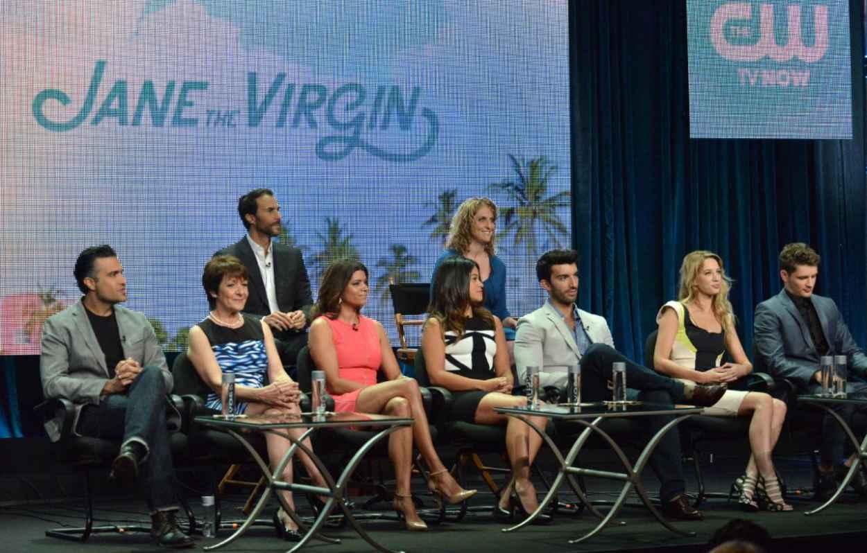 Yael Grobglas - The CW Summer 2015 TCA Tour-4
