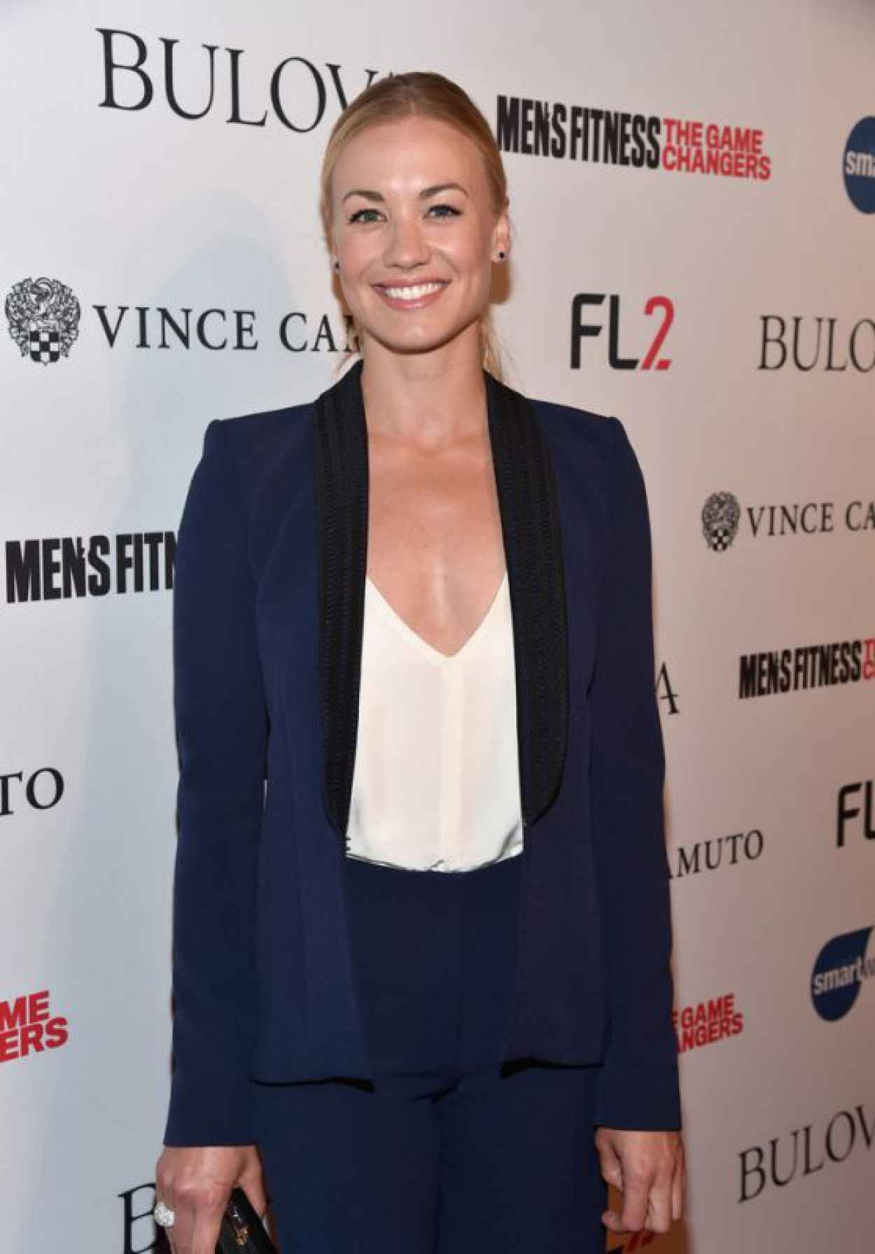 Yvonne Strahovski - MENS FITNESS Celebration of The 2015 Game Changers in West Hollywood-1