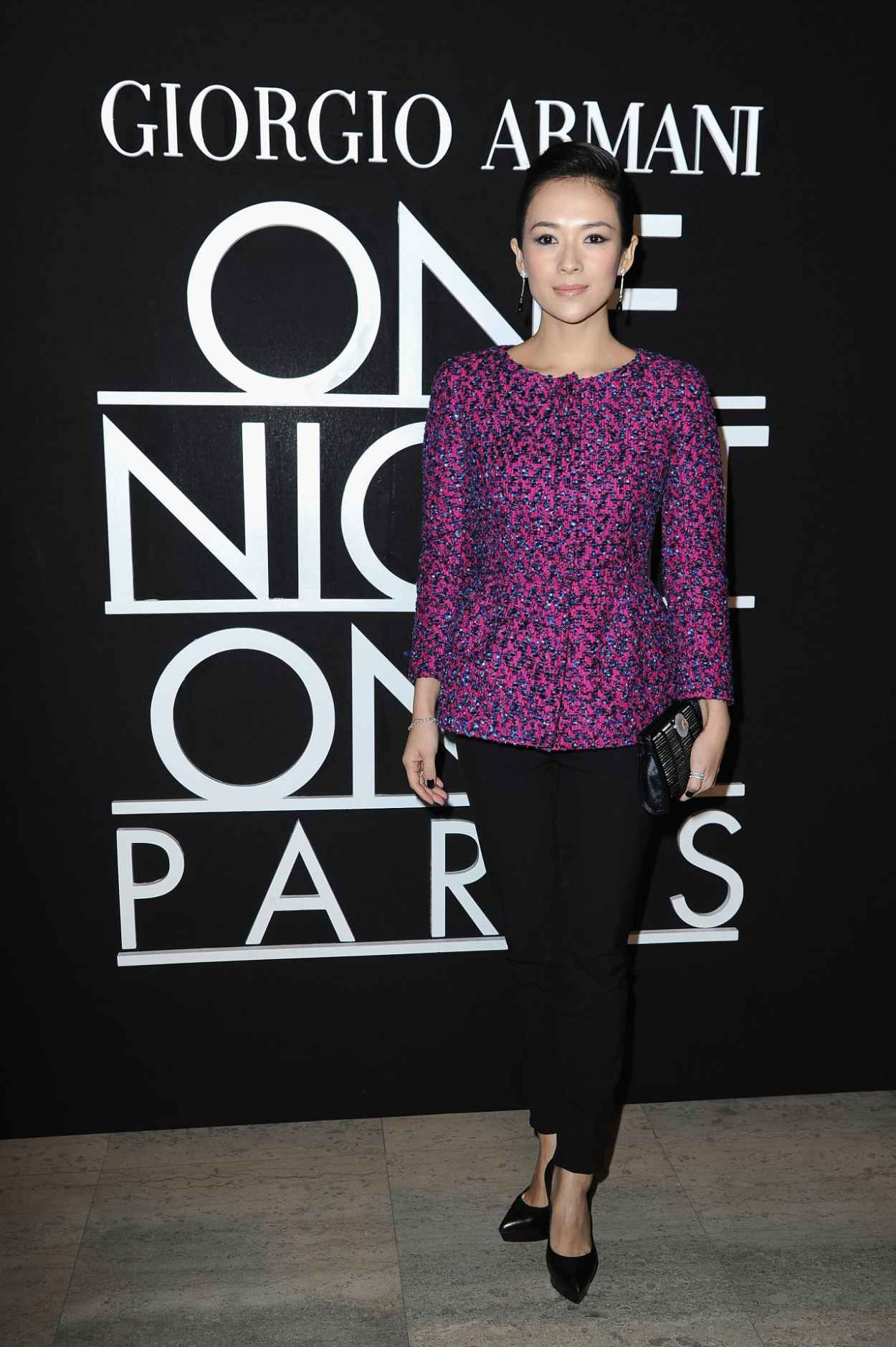 Zhang Ziyi - Giorgio Armani Prive Show - Paris, France January 2015-1