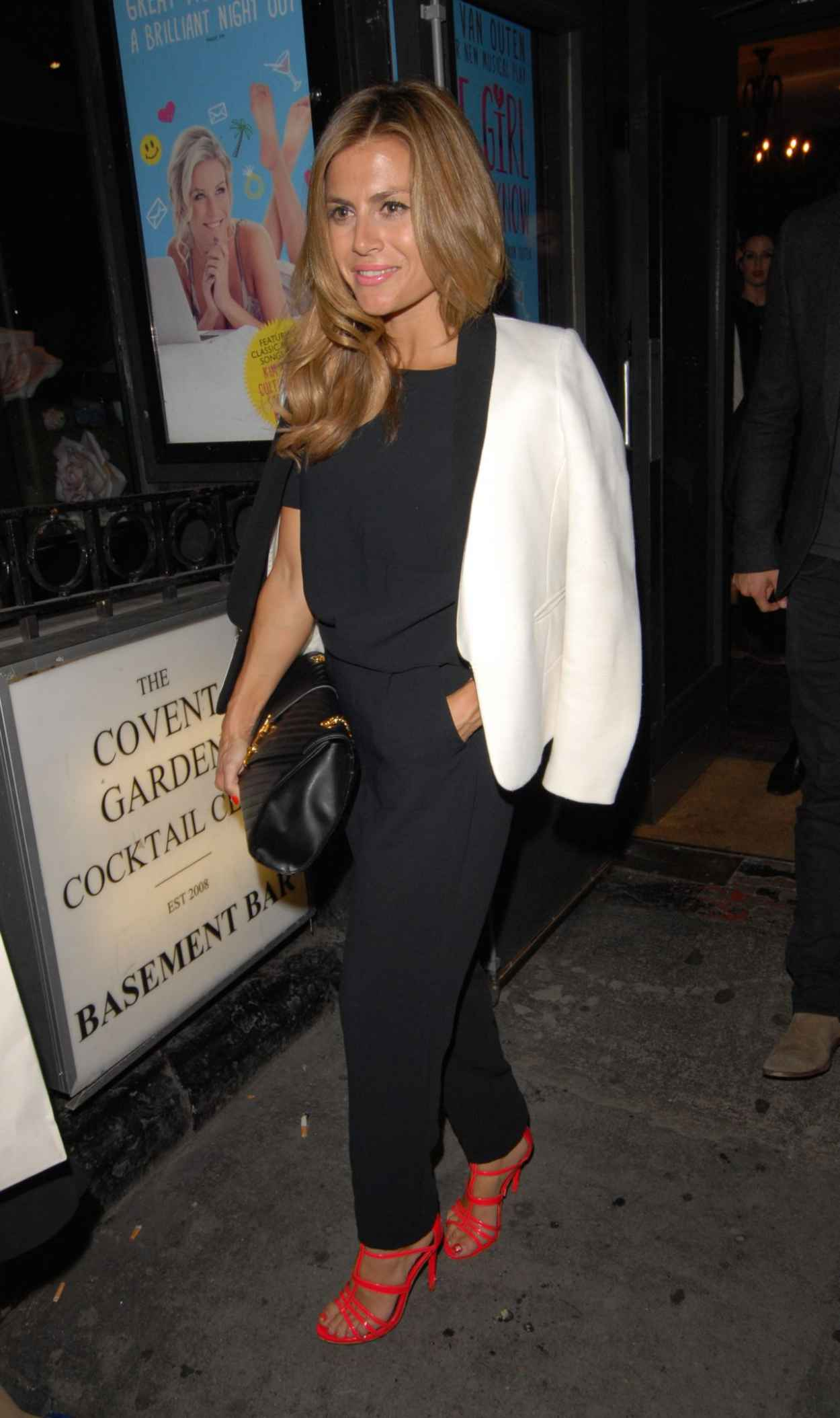 Zoe Hardman - Some Girl I Used To Know Press Night Performance in London-1