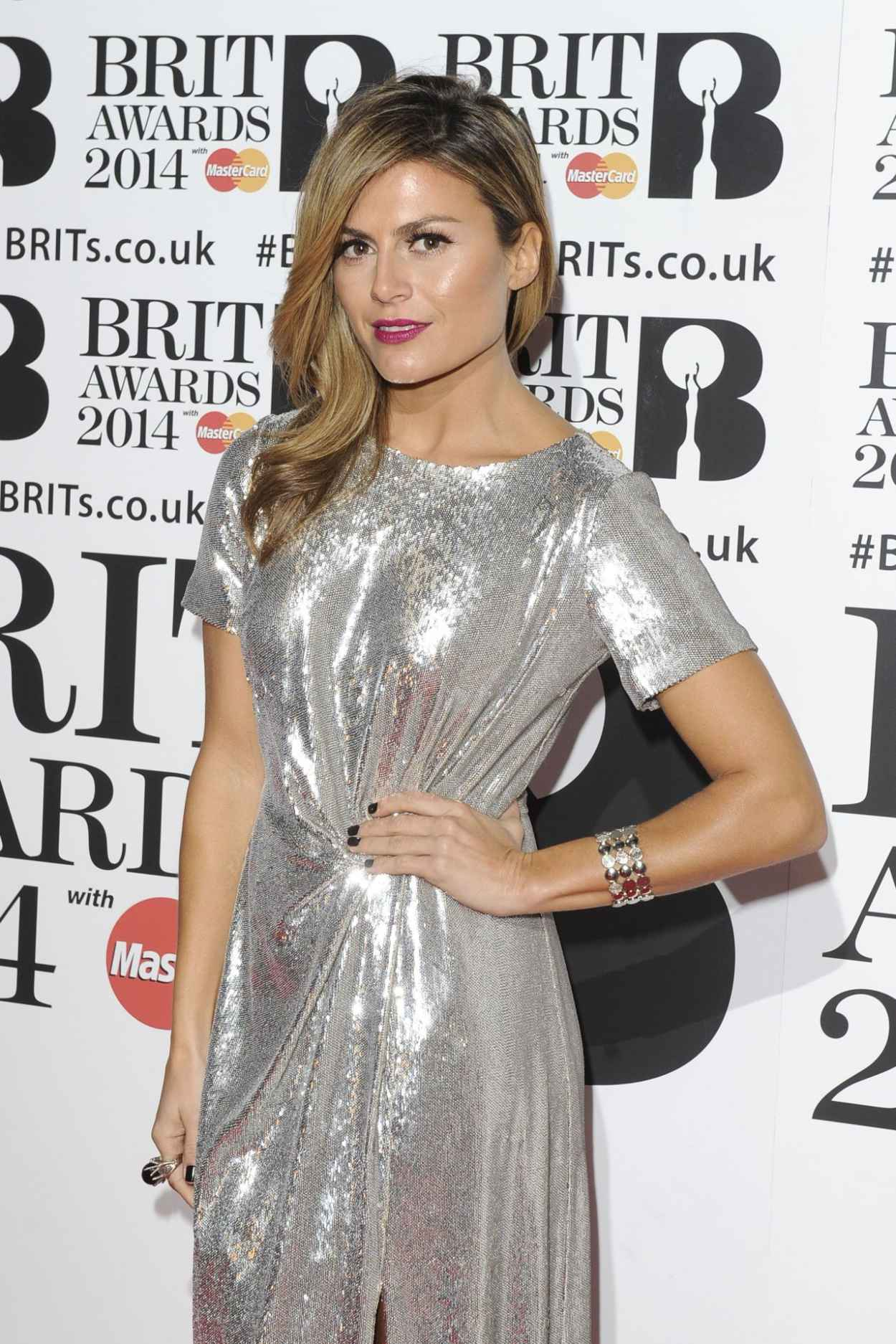 Zoe Hardman - The BRIT Awards 2015 at the 02 Arena in London-1
