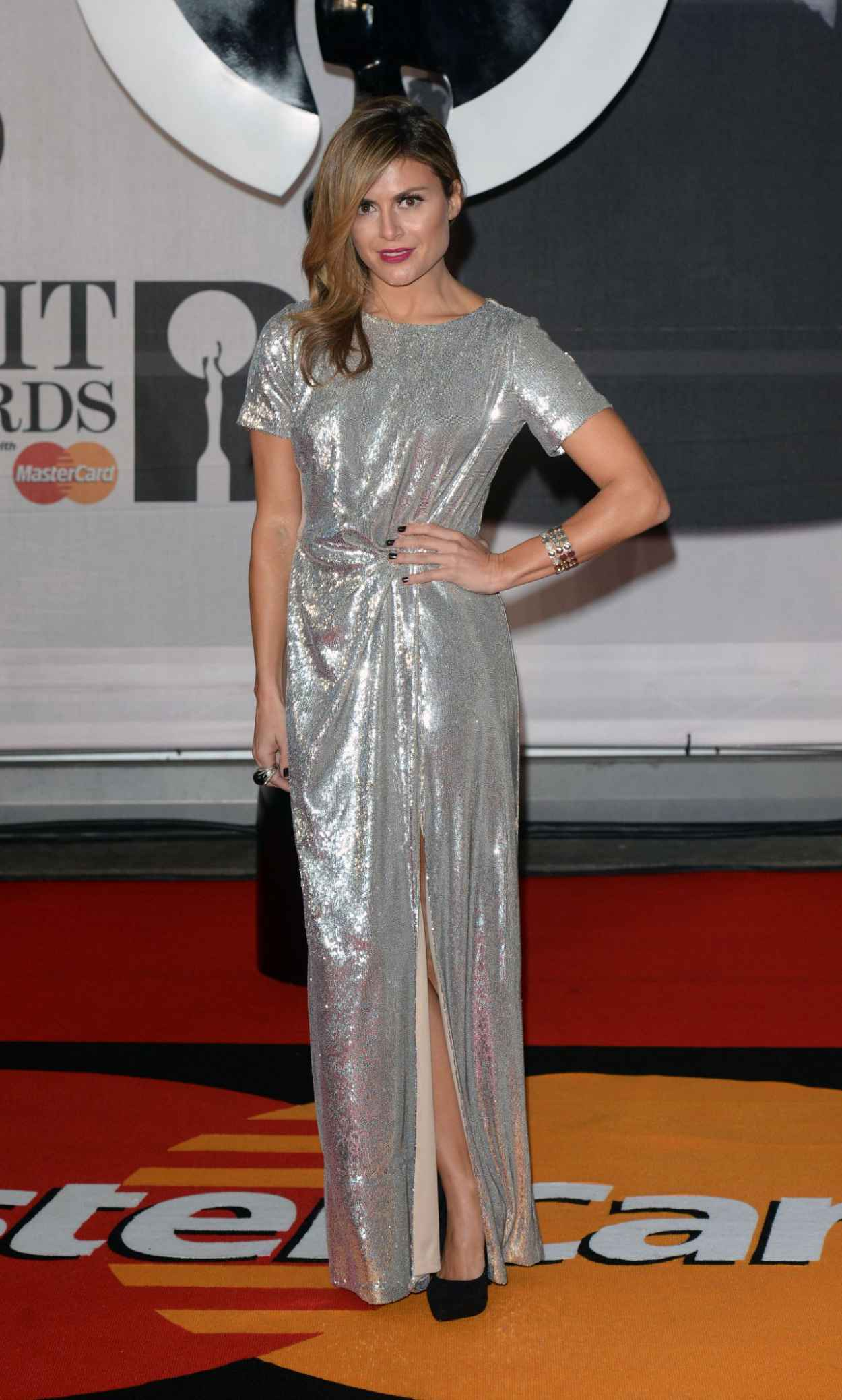 Zoe Hardman - The BRIT Awards 2015 at the 02 Arena in London-2