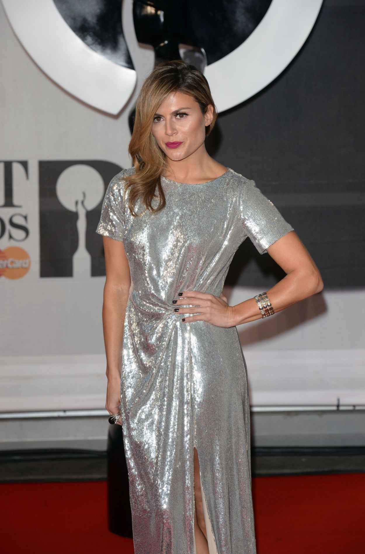 Zoe Hardman - The BRIT Awards 2015 at the 02 Arena in London-3