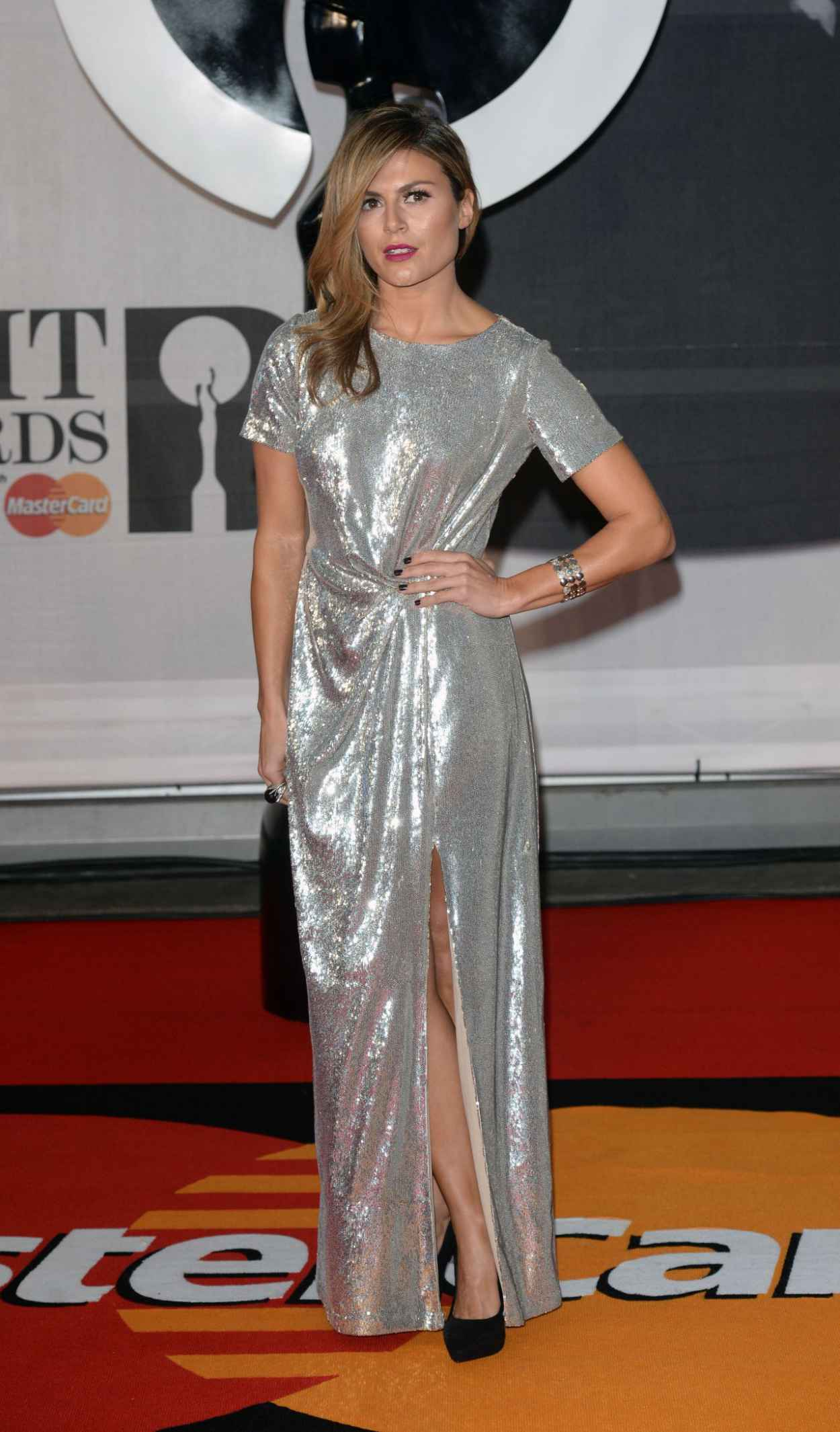 Zoe Hardman - The BRIT Awards 2015 at the 02 Arena in London-4