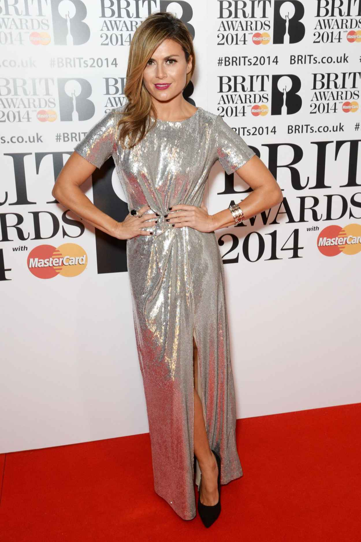 Zoe Hardman - The BRIT Awards 2015 at the 02 Arena in London-5