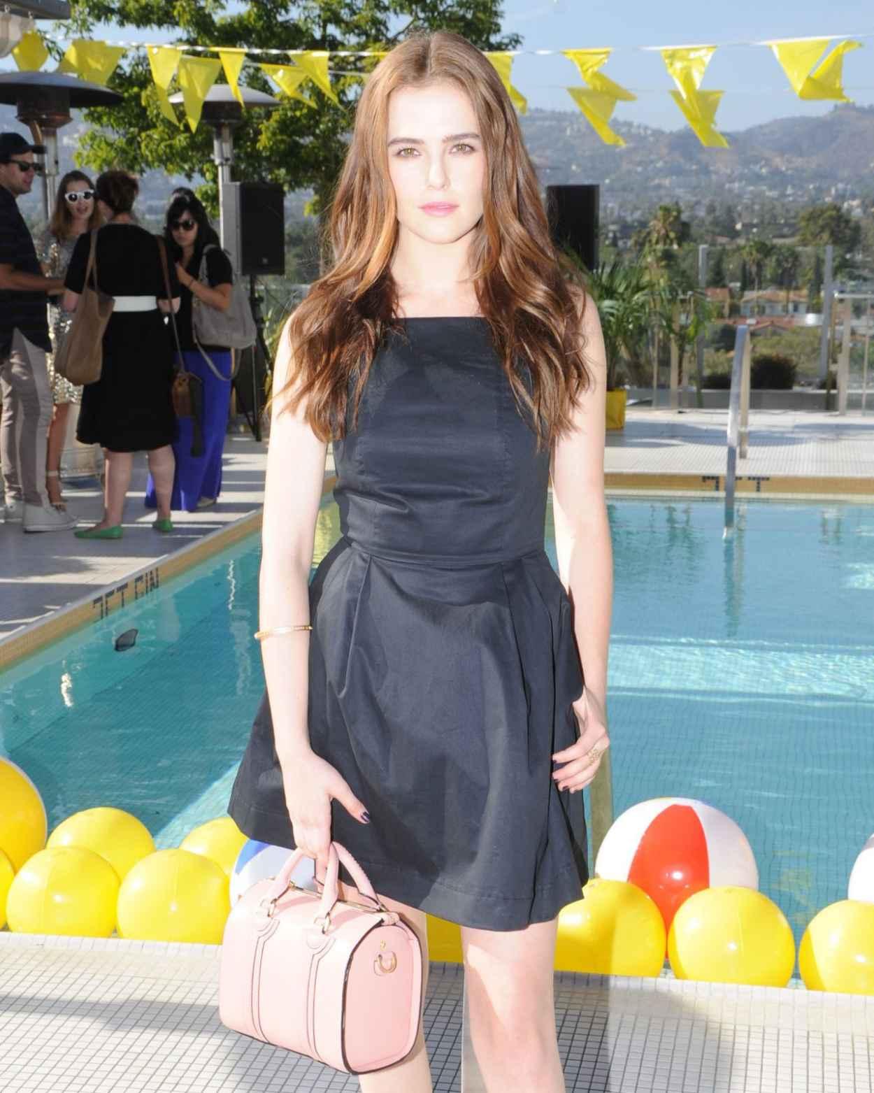 Zoey Deutch at Kate Spade Saturday Summer Solstice Party - June 2015-1
