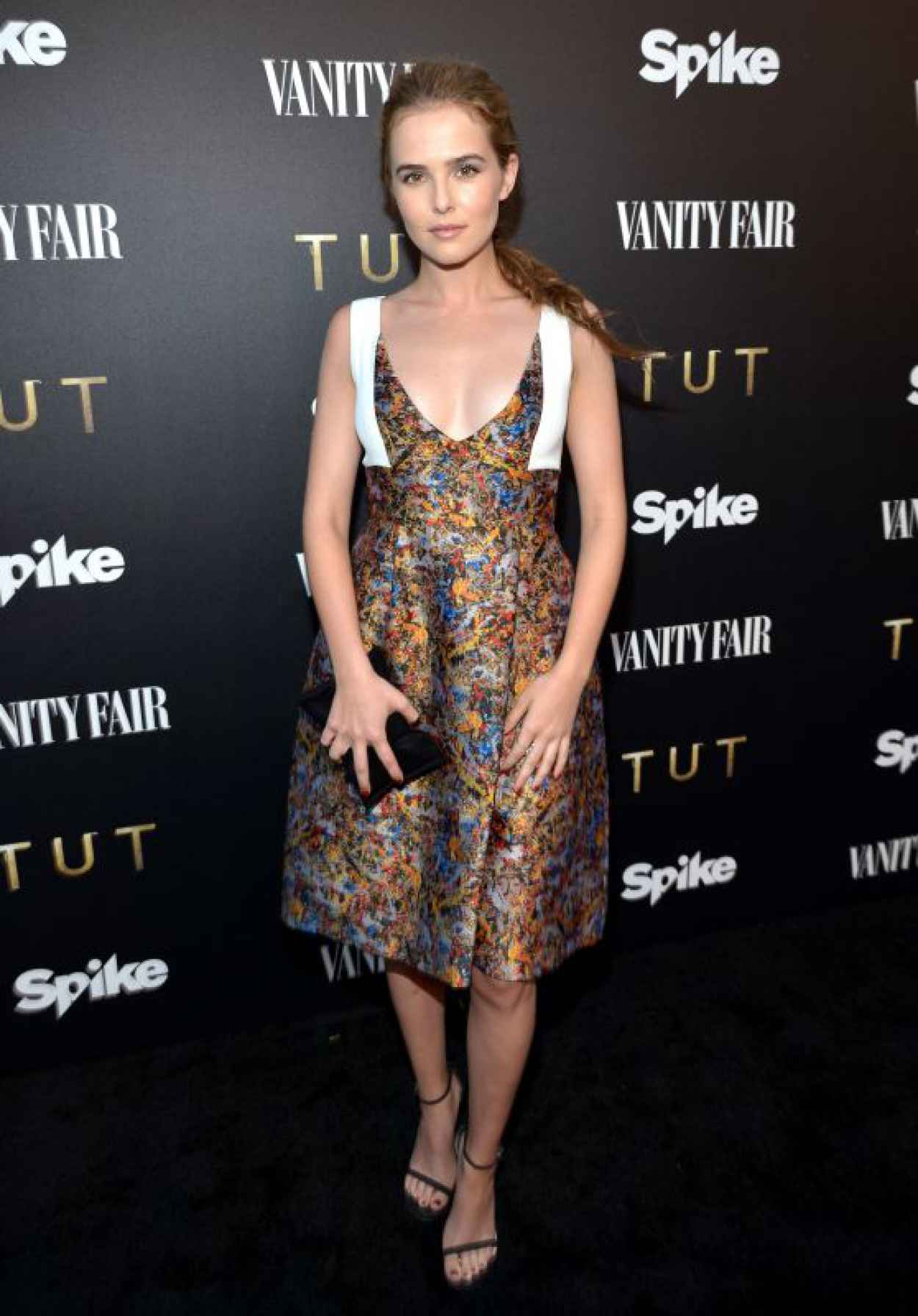 Zoey Deutch - Vanity Fair And Spike TV Celebrate The Premiere Of The New Series TUT in Los Angeles-1