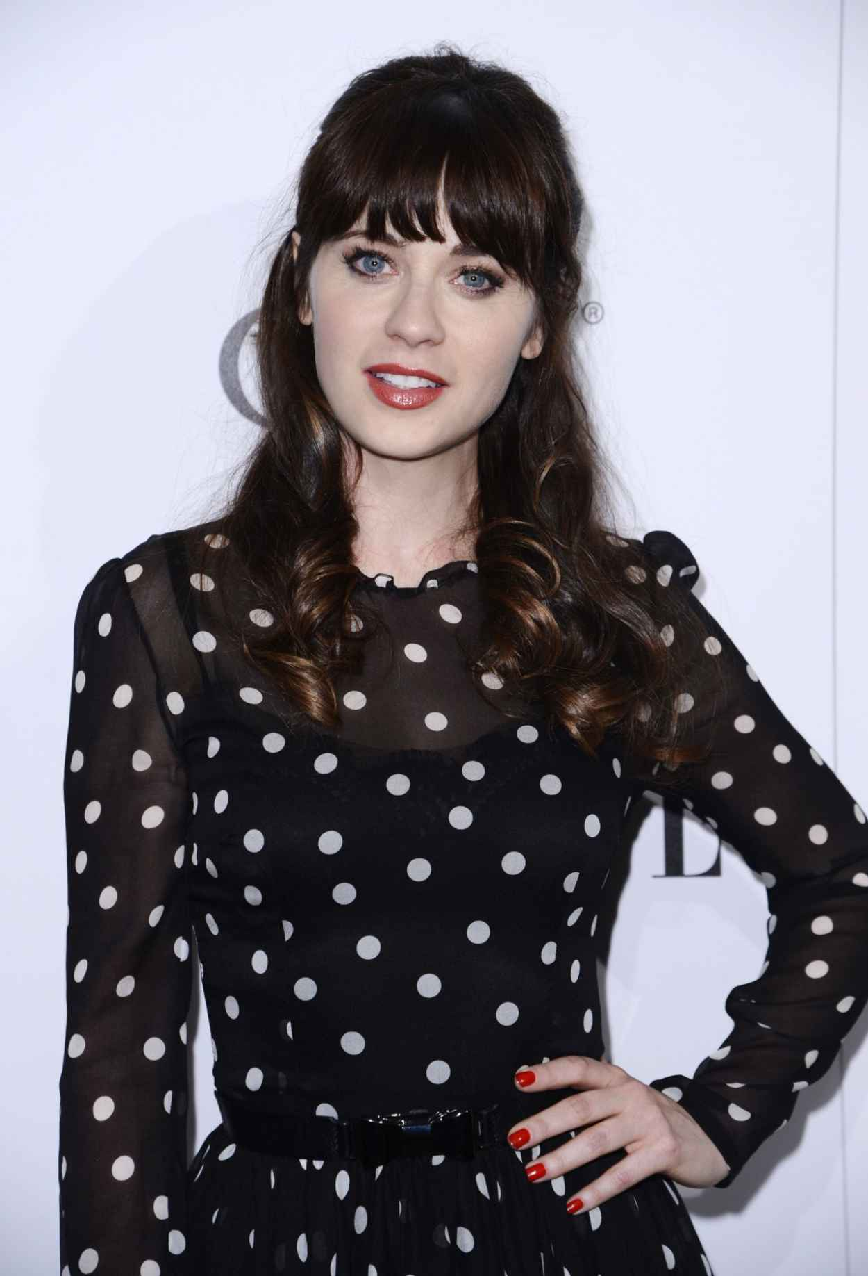 Zooey Deschanel - ELLE-s Annual Women in Television Celebration, January 2015-1